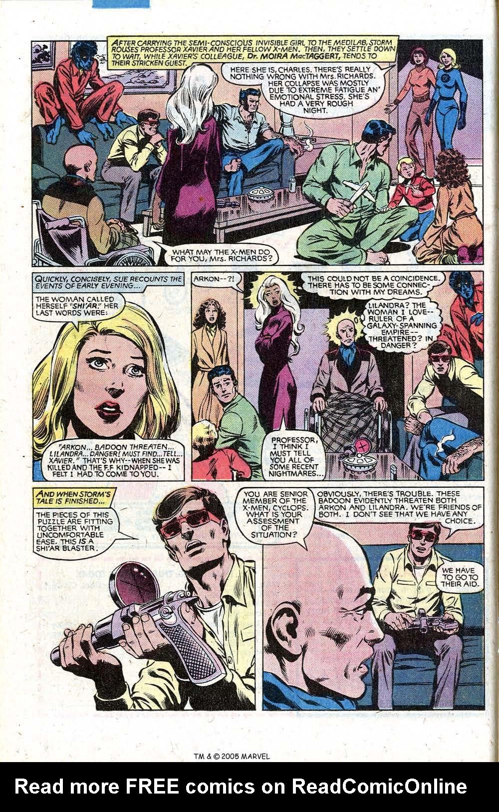 Read online Uncanny X-Men (1963) comic -  Issue # _Annual 5 - 16