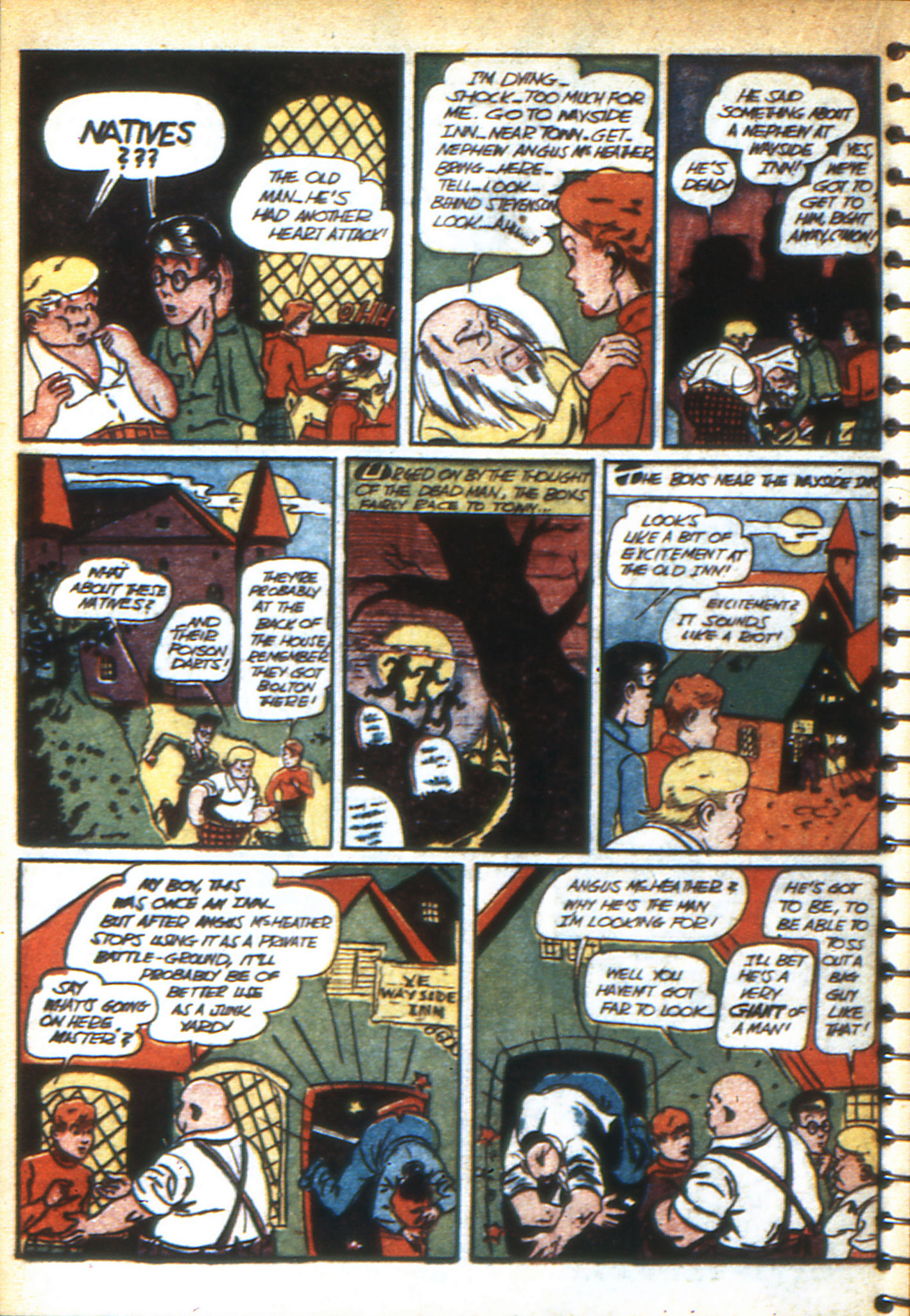 Read online Adventure Comics (1938) comic -  Issue #47 - 53