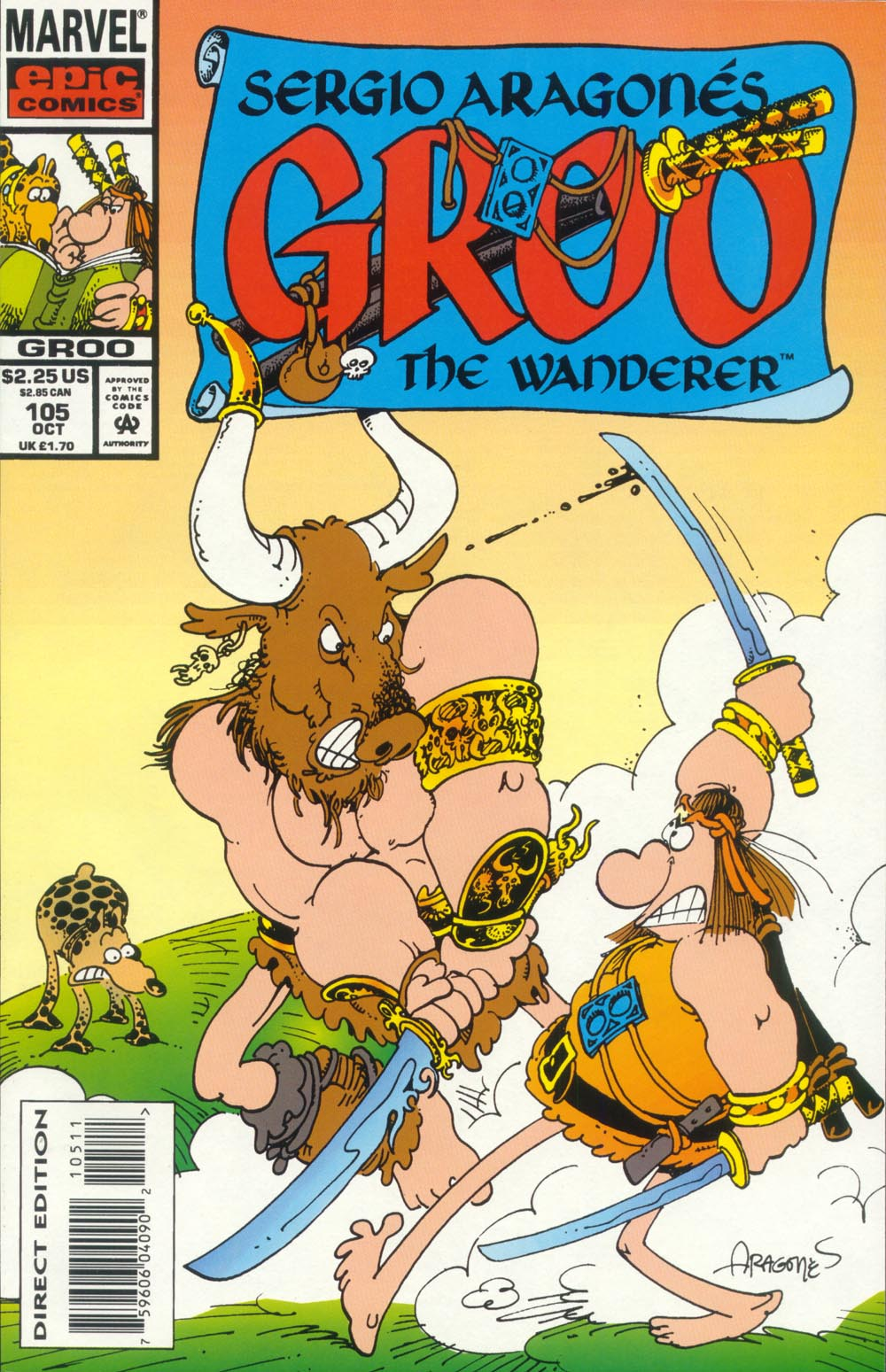 Read online Sergio Aragonés Groo the Wanderer comic -  Issue #105 - 1