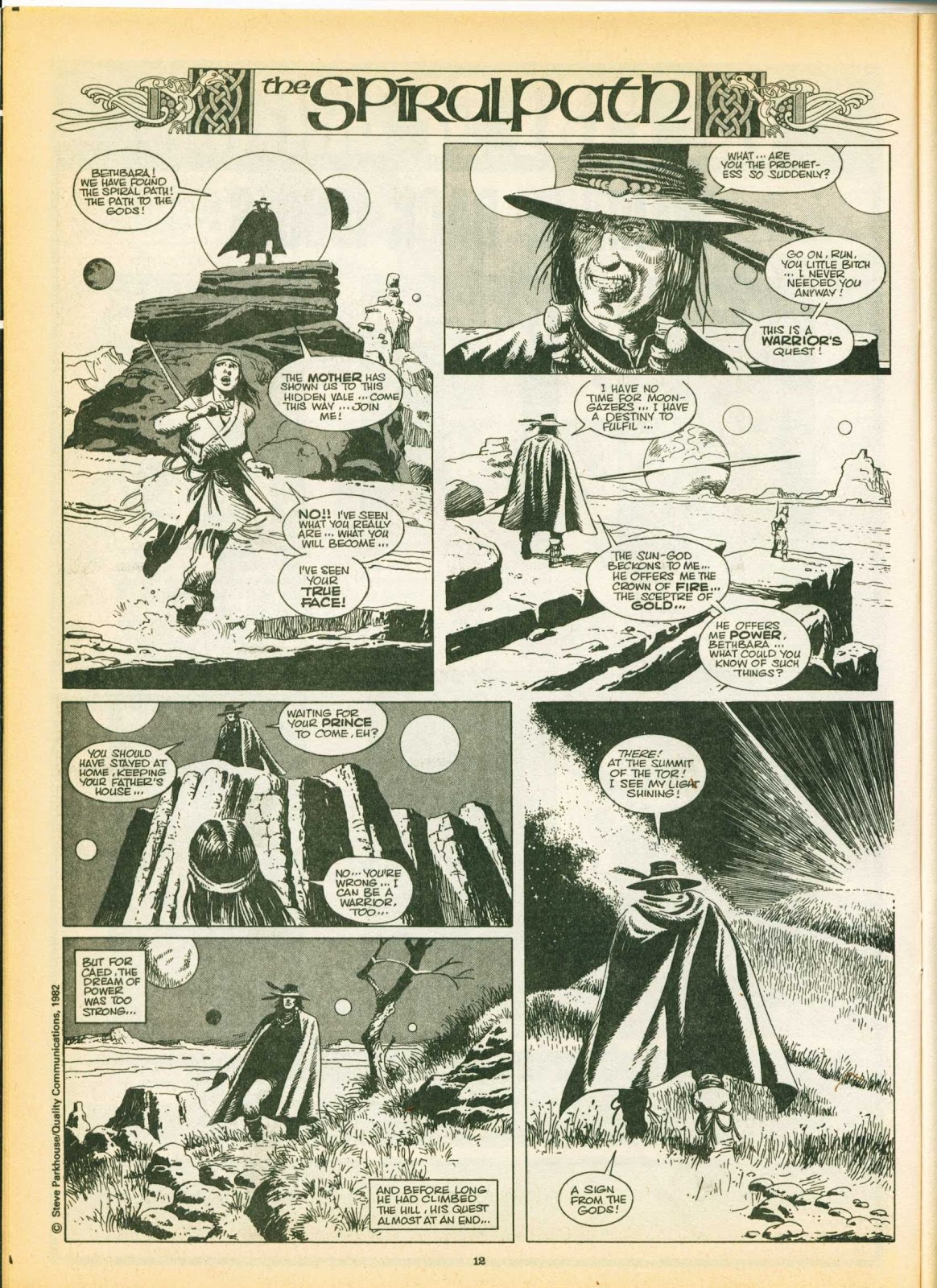 Warrior Issue #8 #9 - English 12