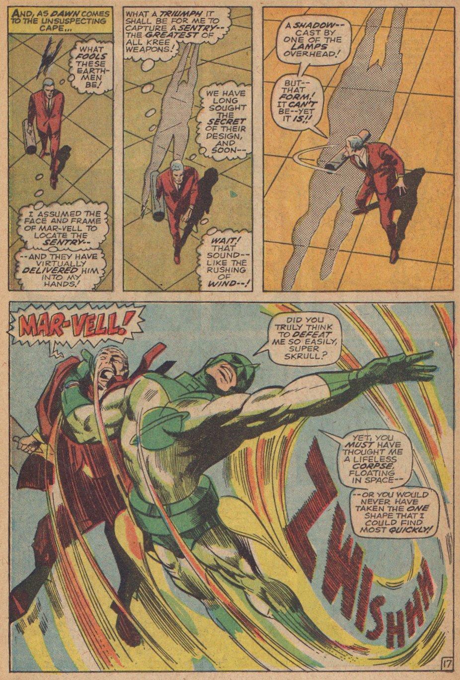 Captain Marvel (1968) Issue #3 #3 - English 18