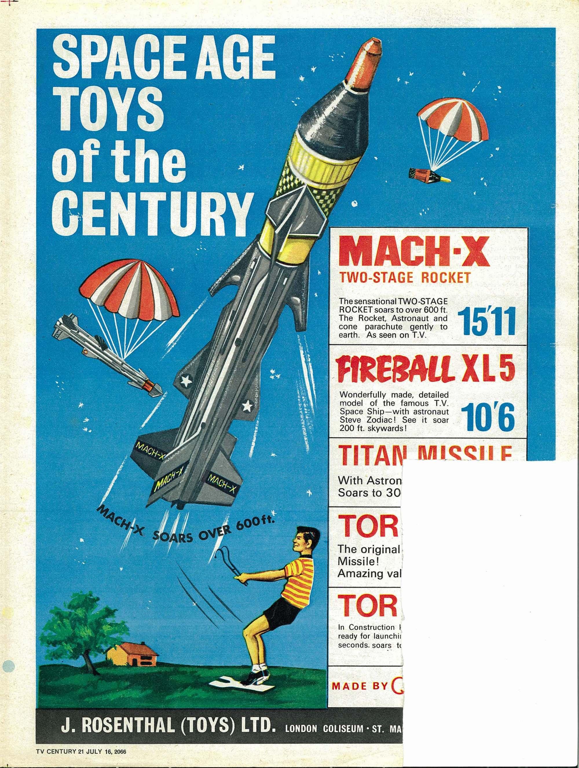 Read online TV Century 21 (TV 21) comic -  Issue #78 - 20