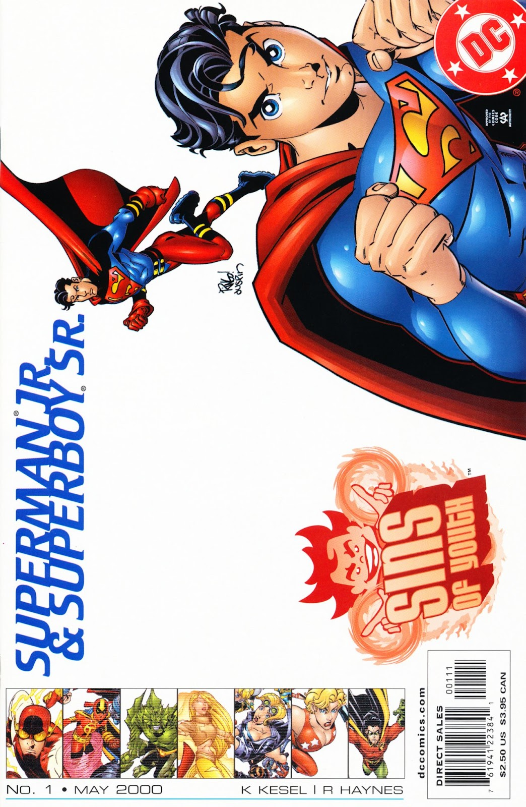 Sins of Youth issue Superman Jr. and Superboy Sr - Page 1
