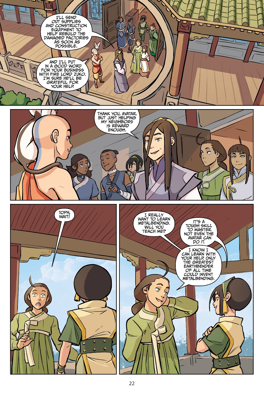 Read online Nickelodeon Avatar: The Last Airbender - Imbalance comic -  Issue # TPB 2 - 23