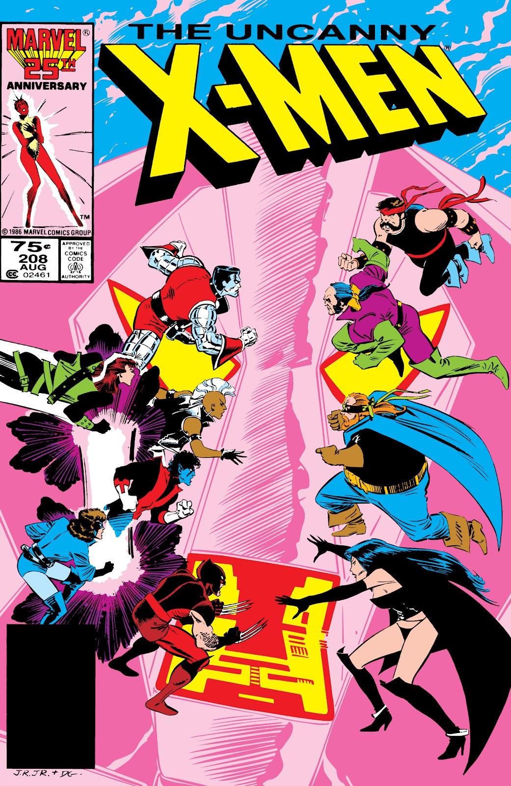 Uncanny X-Men (1963) 208 Page 1