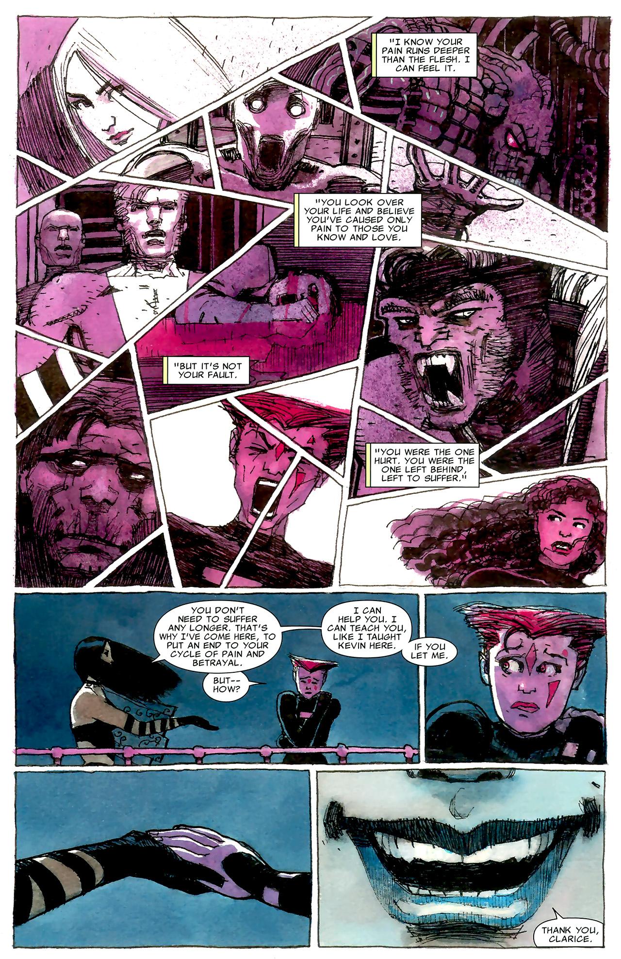 Read online X Necrosha: The Gathering comic -  Issue # Full - 17