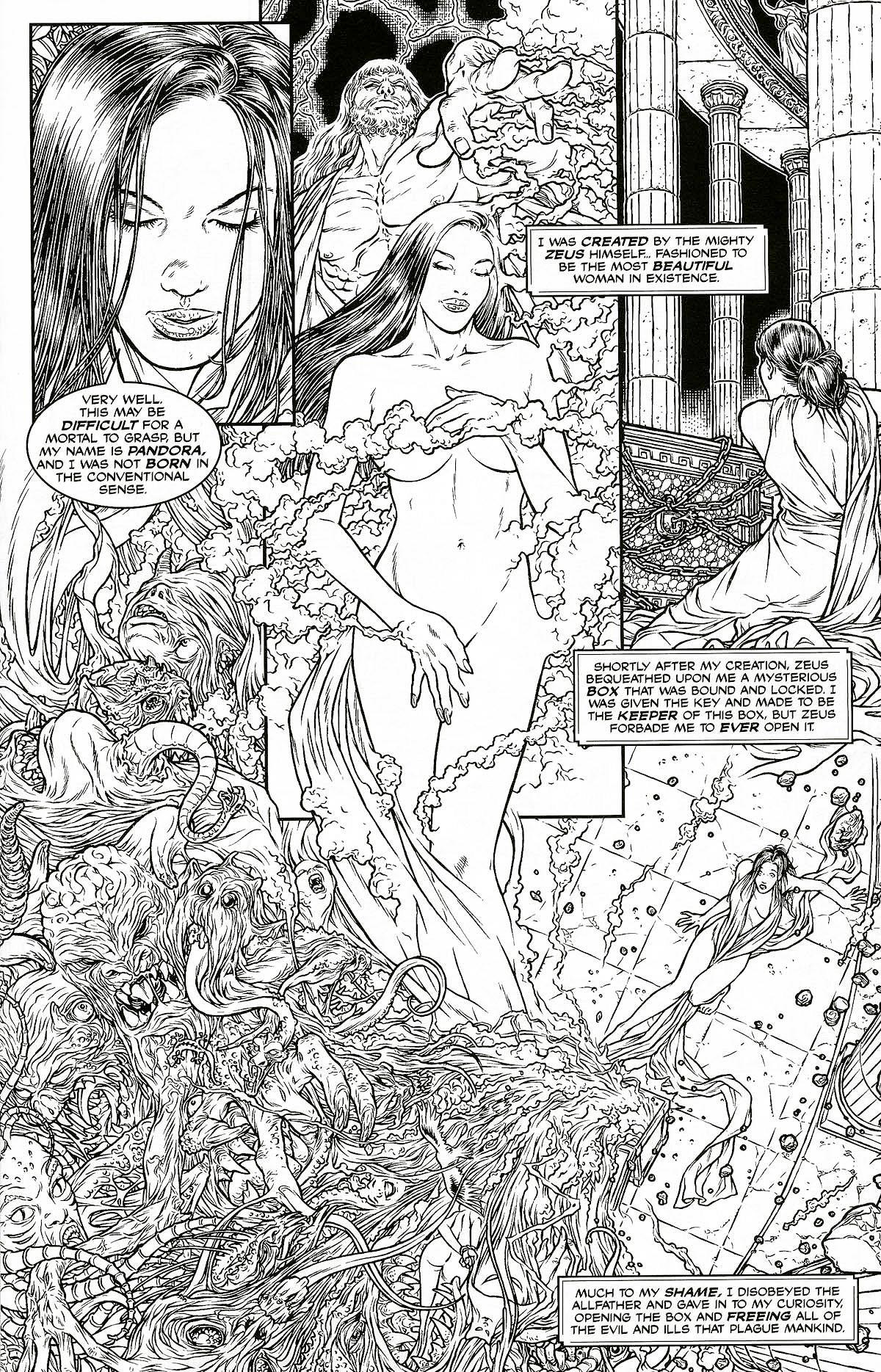 Read online Shi: Pandora's Box comic -  Issue #1 - 9