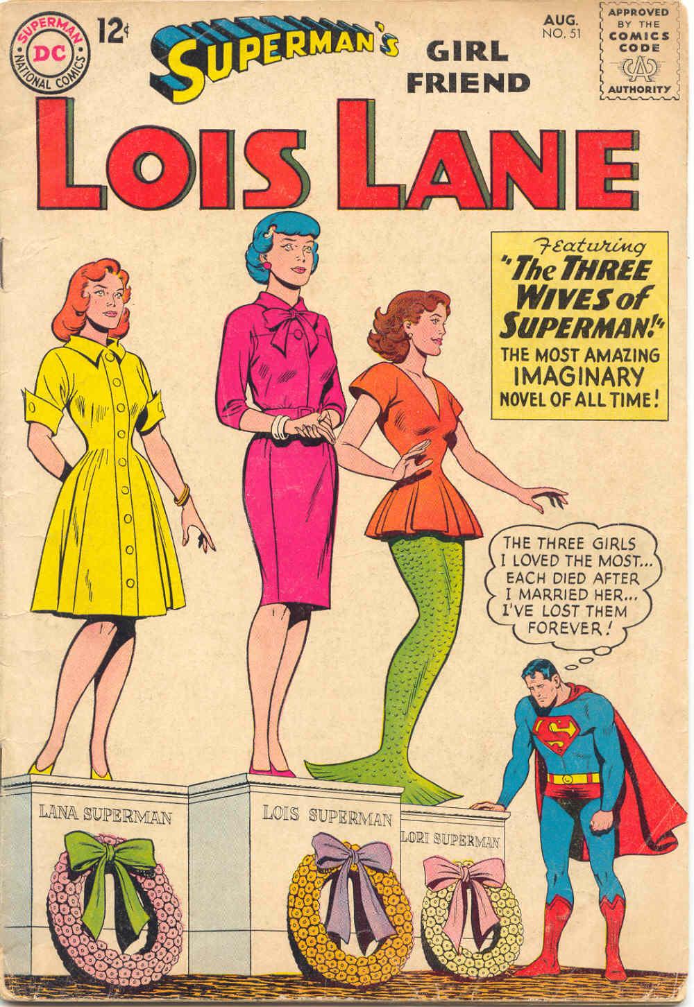 Supermans Girl Friend, Lois Lane 51 Page 1