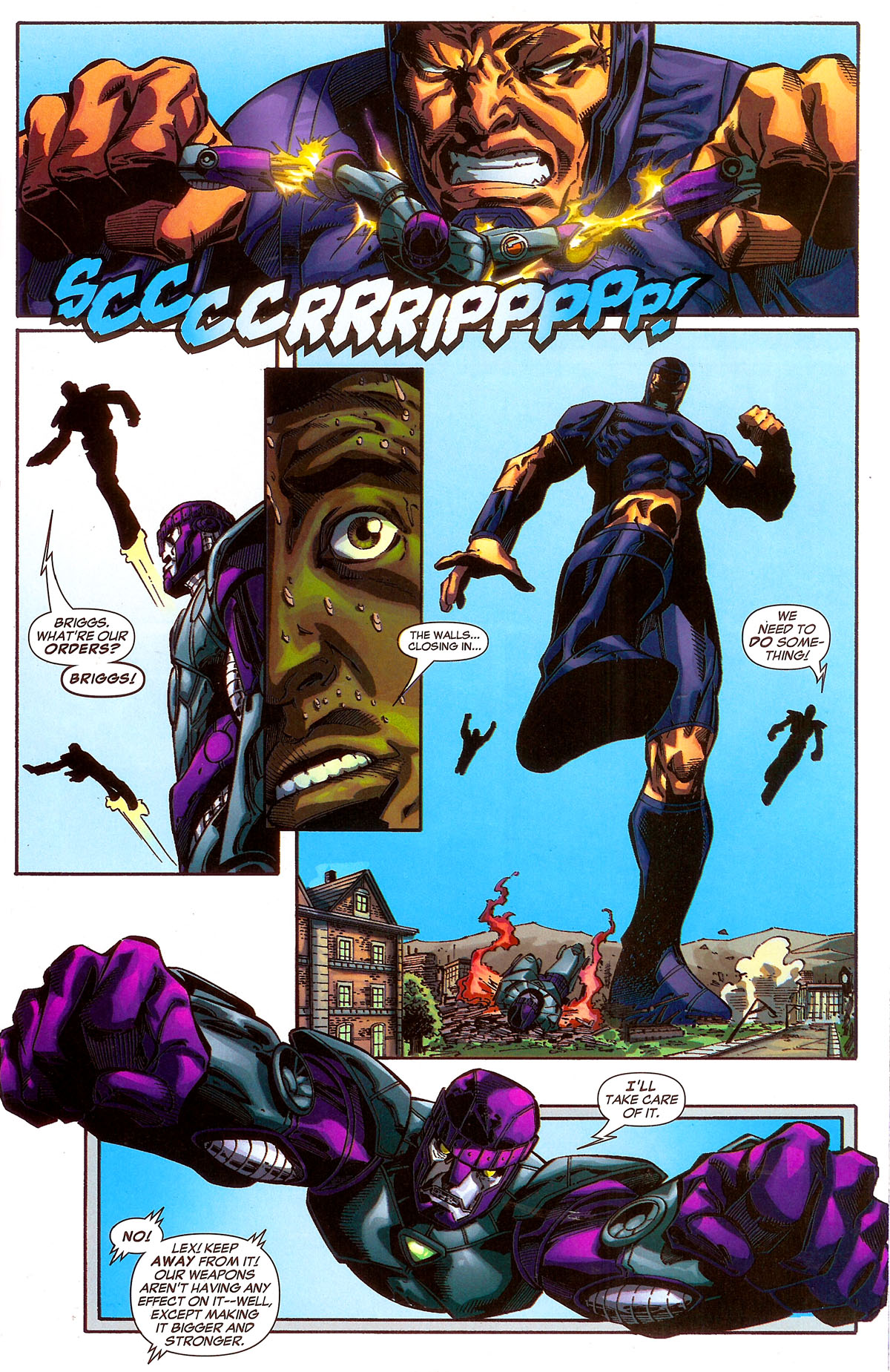 Read online Sentinel Squad O*N*E comic -  Issue #2 - 20