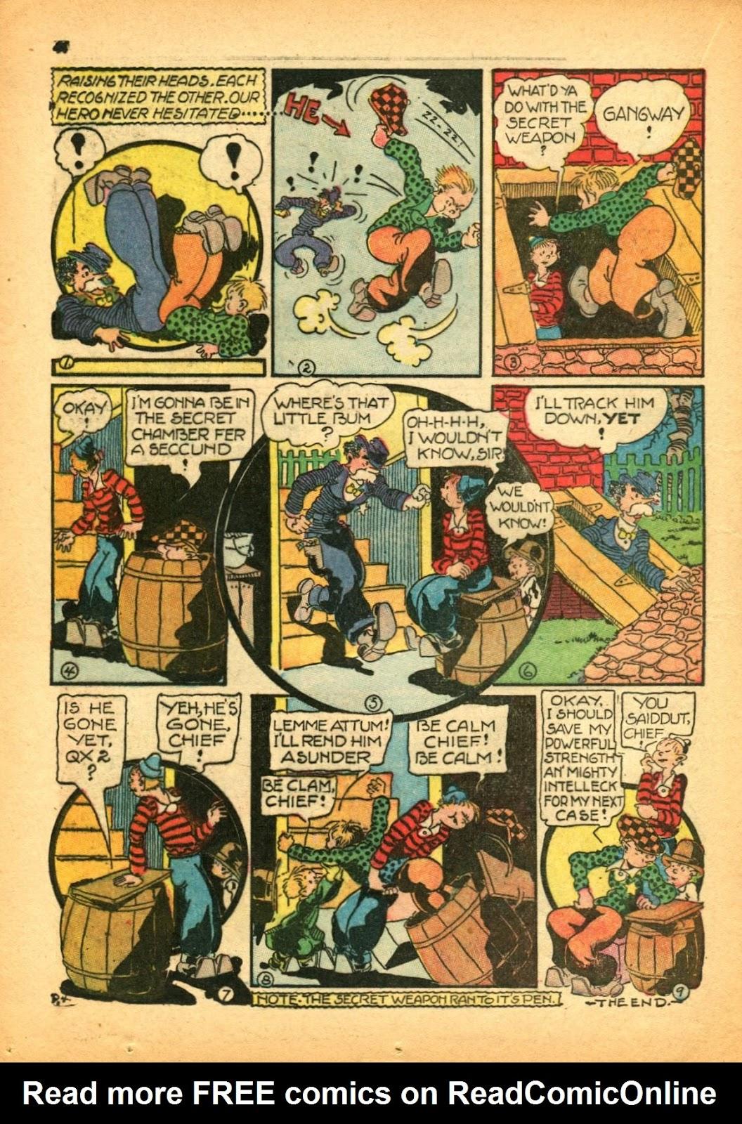Read online Super-Magician Comics comic -  Issue #12 - 44