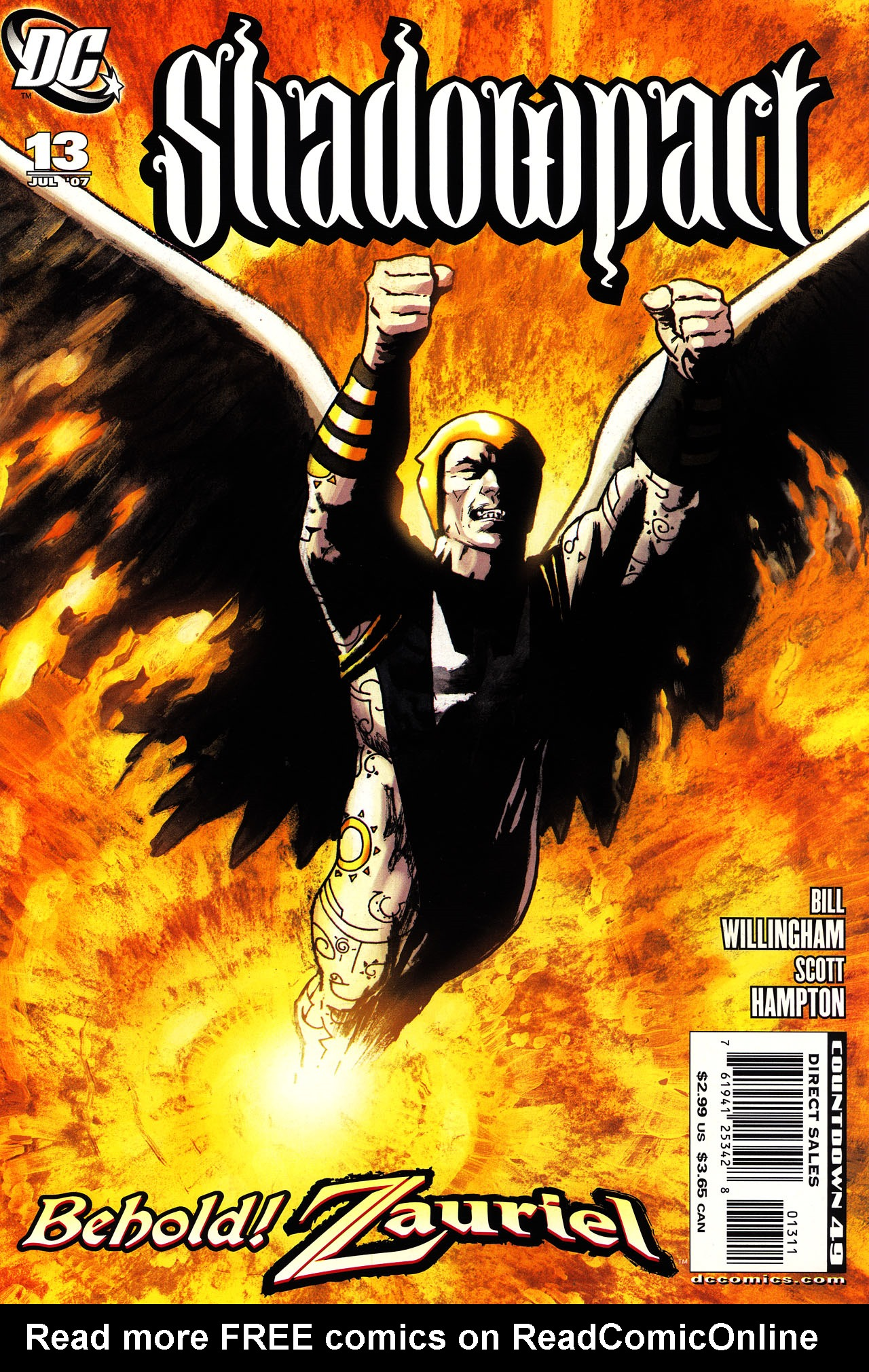 Read online Shadowpact comic -  Issue #13 - 1