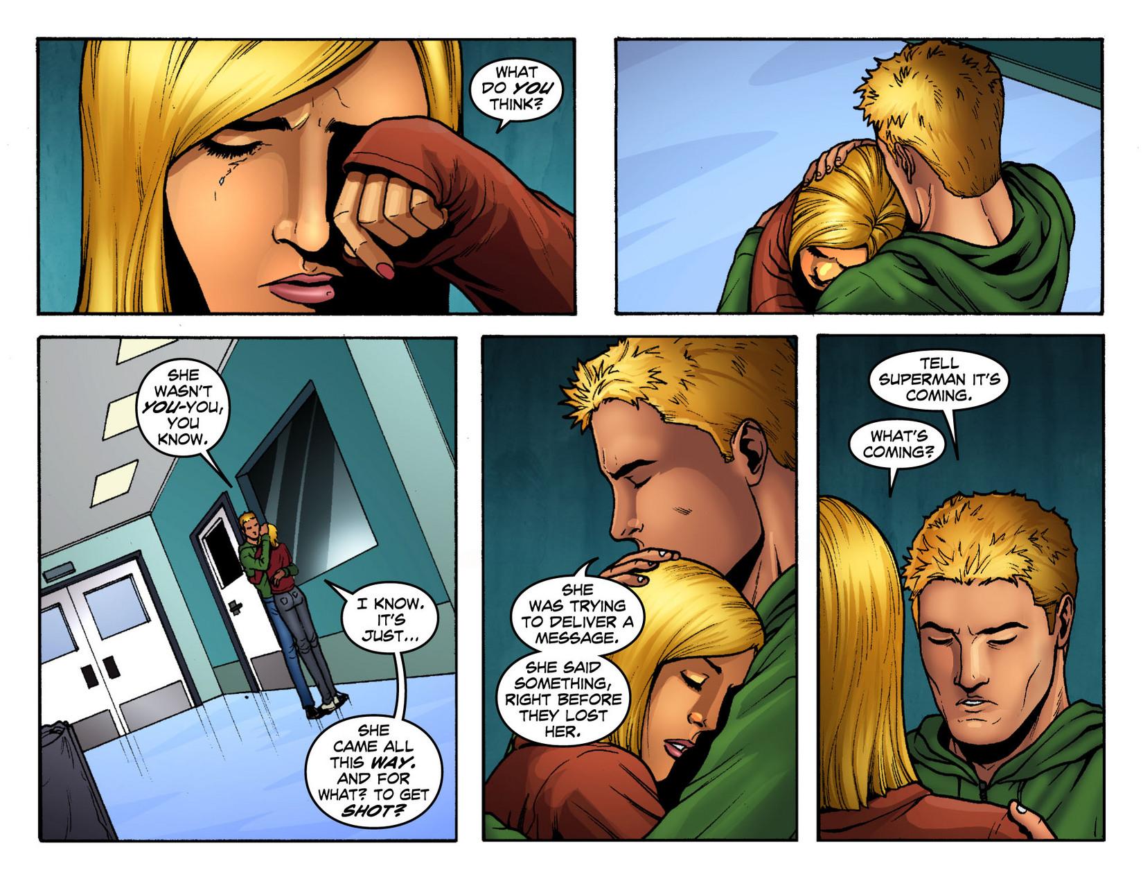 Read online Smallville: Season 11 comic -  Issue #12 - 17