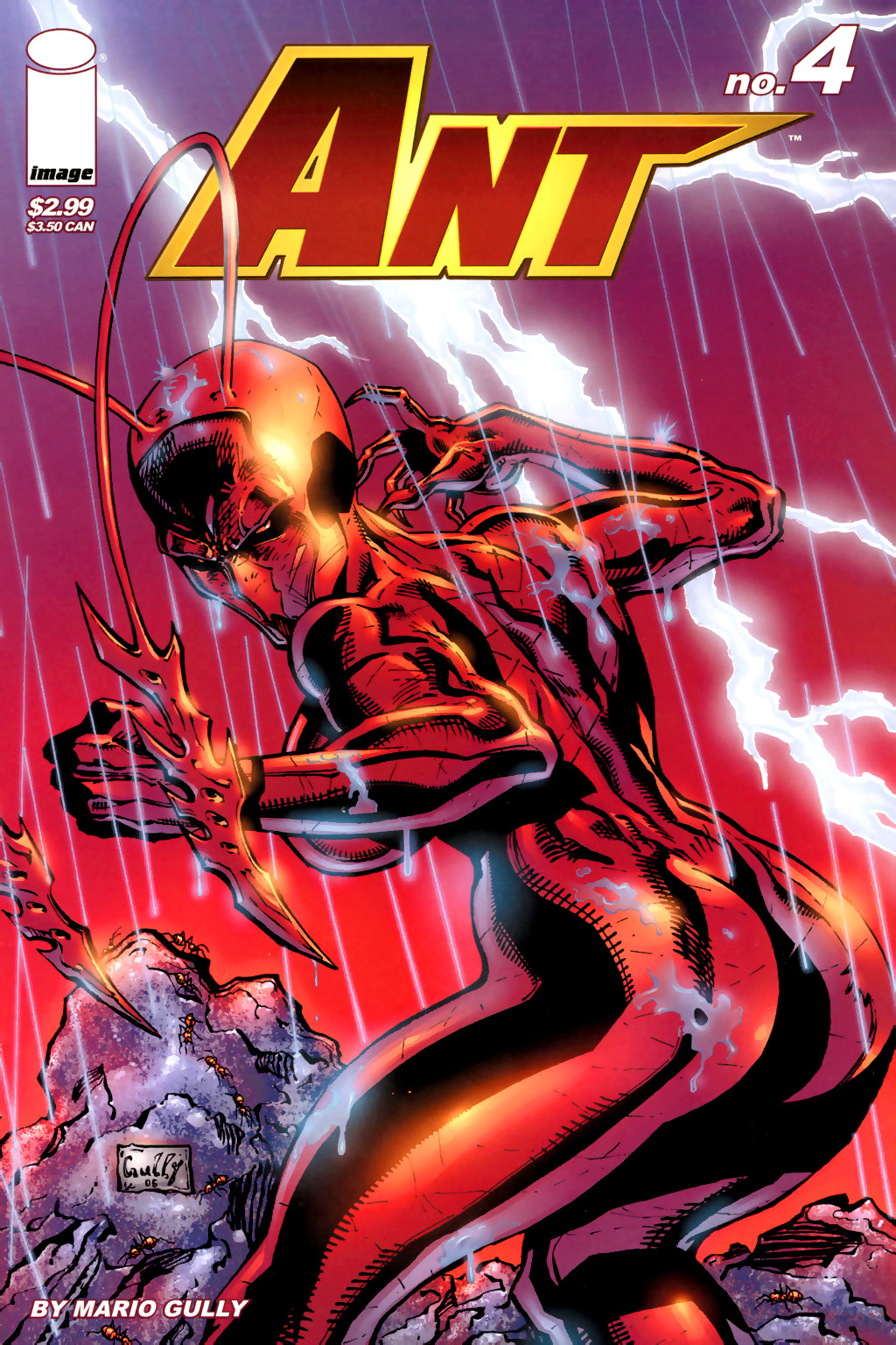Read online Ant comic -  Issue #4 - 1