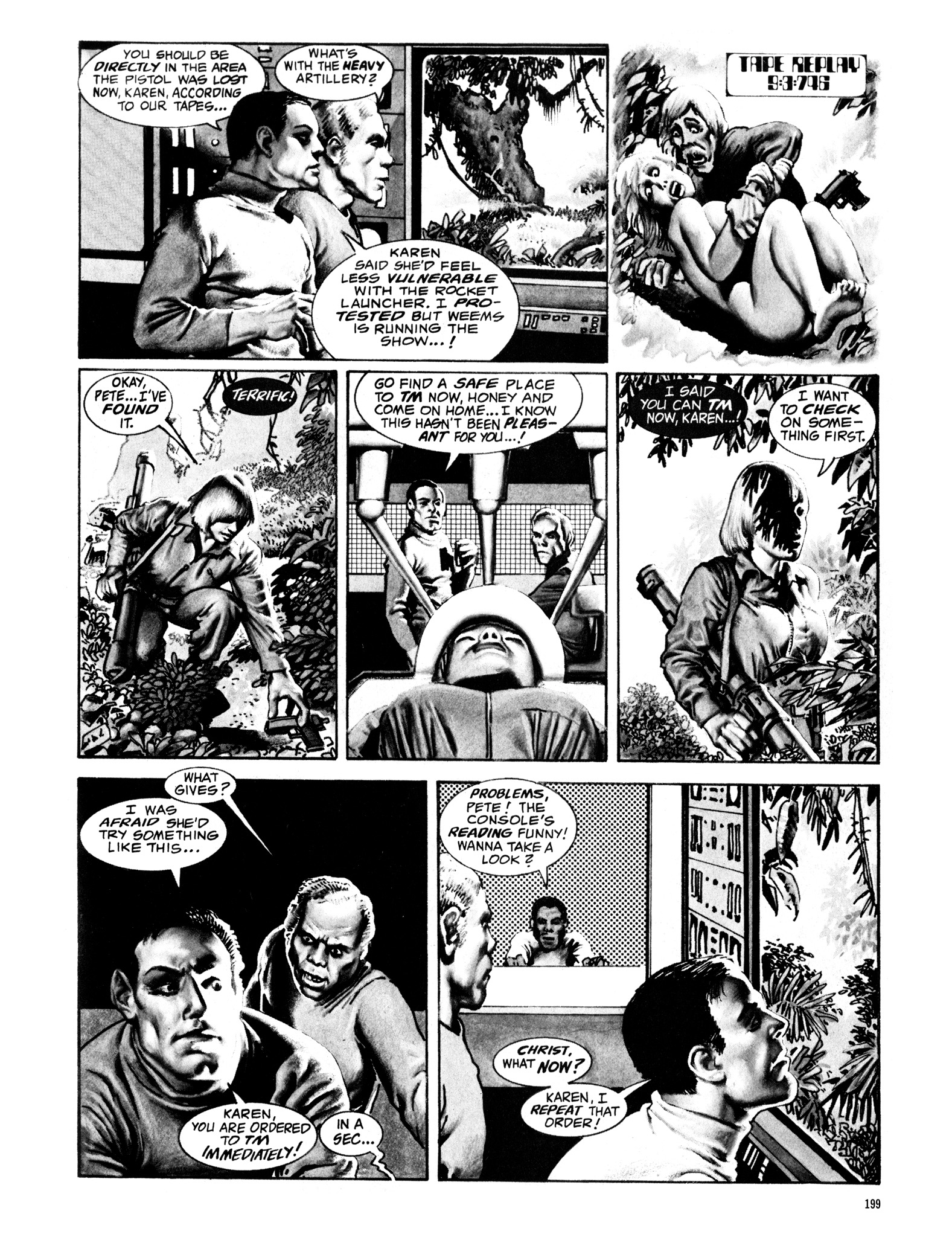 Read online Eerie Archives comic -  Issue # TPB 16 - 200