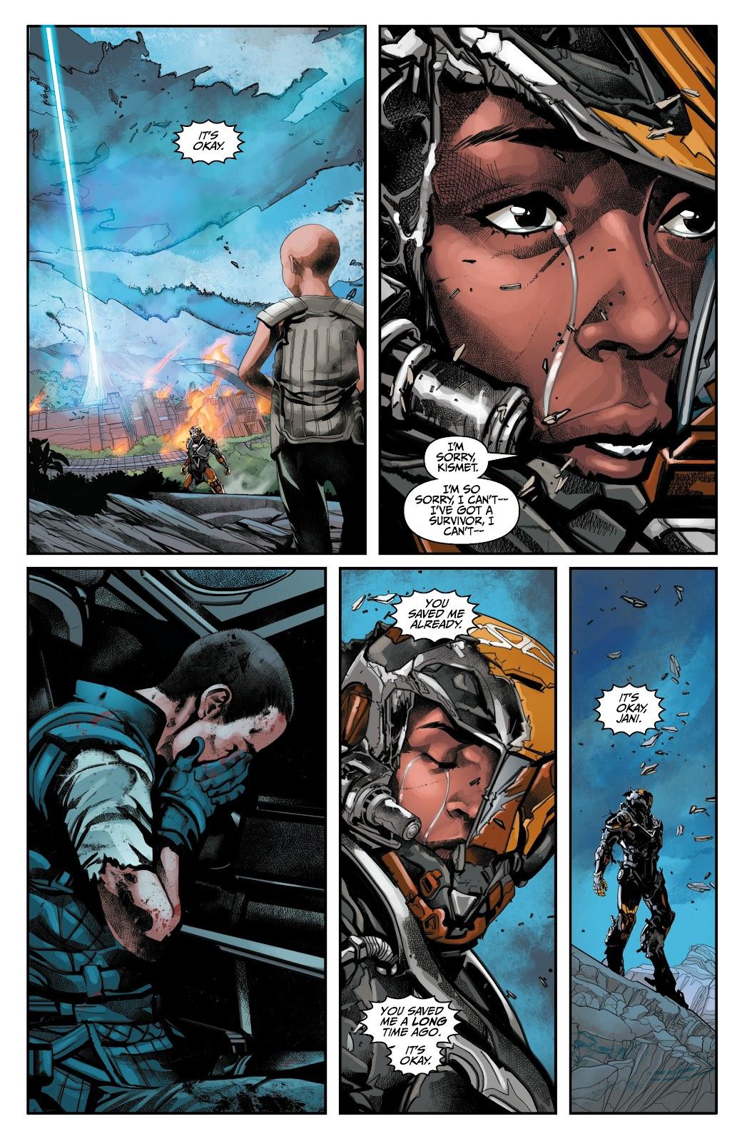 Read online Anthem comic -  Issue #3 - 18