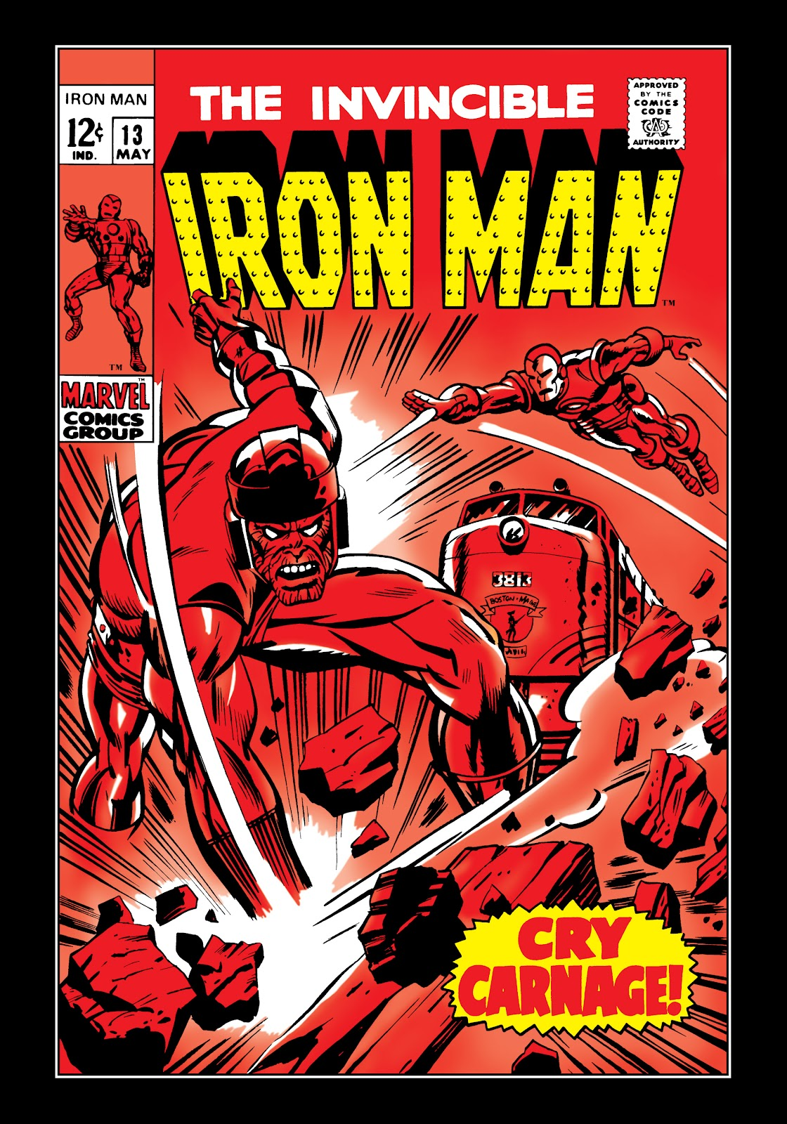 Read online Marvel Masterworks: The Invincible Iron Man comic -  Issue # TPB 5 (Part 3) - 38