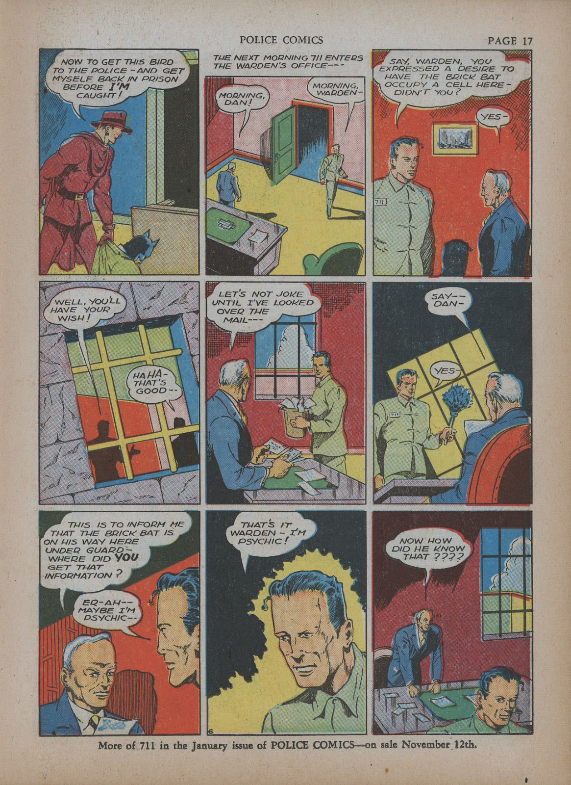 Police Comics issue 5 - Page 21