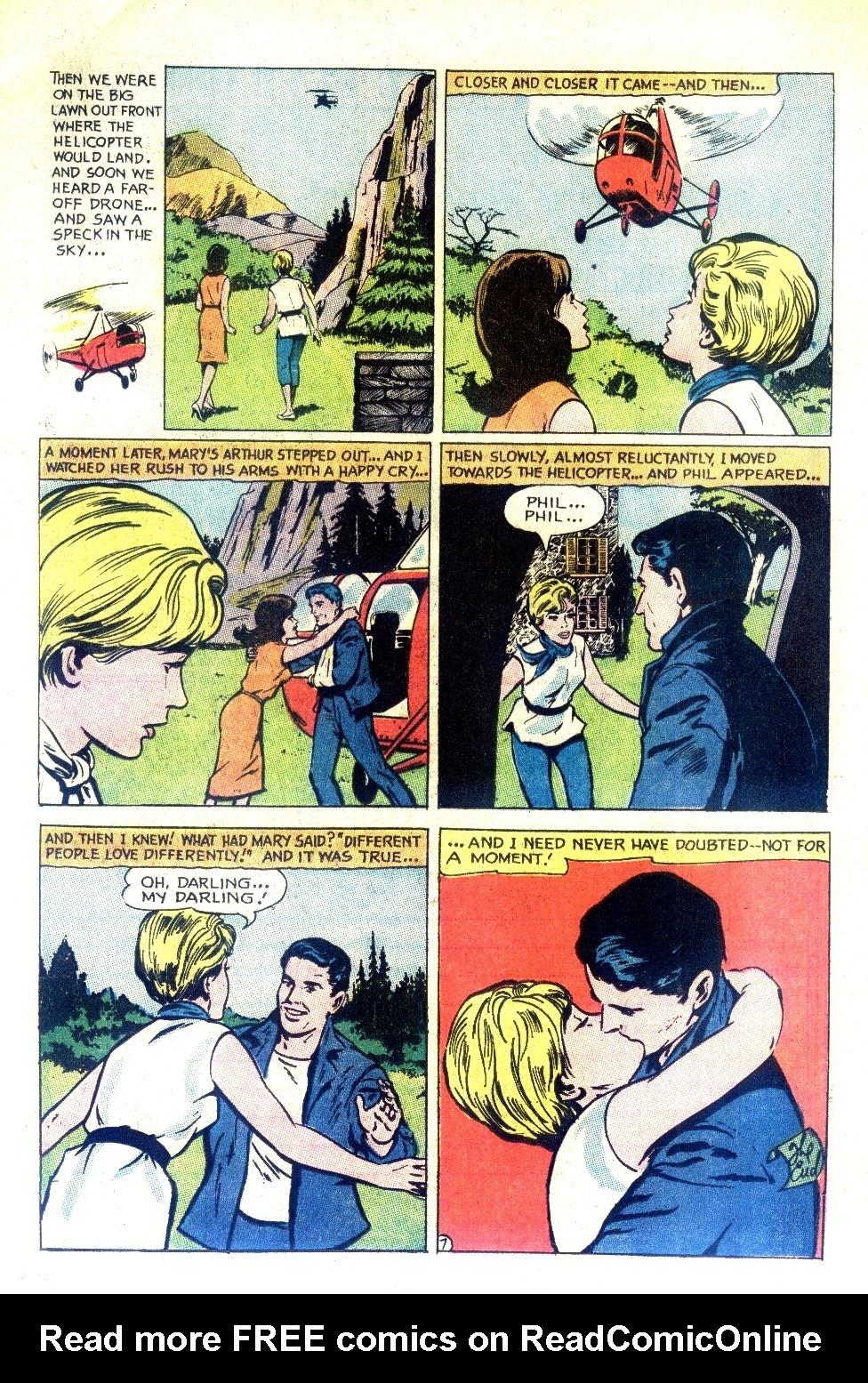 Read online Secret Hearts comic -  Issue #130 - 13