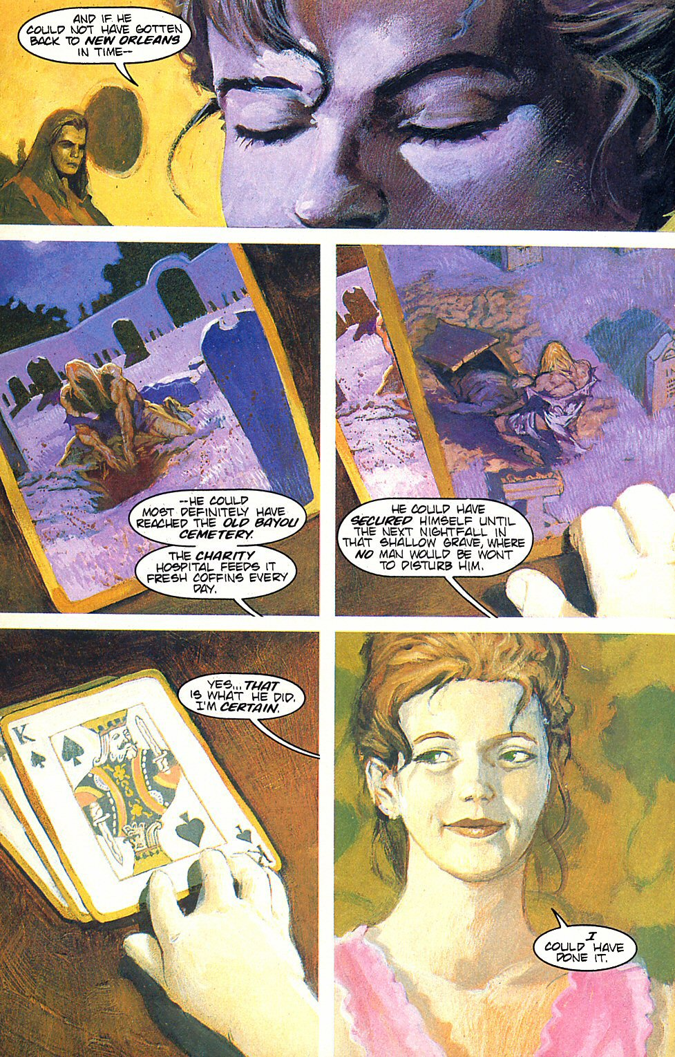 Read online Anne Rice's Interview with the Vampire comic -  Issue #6 - 15