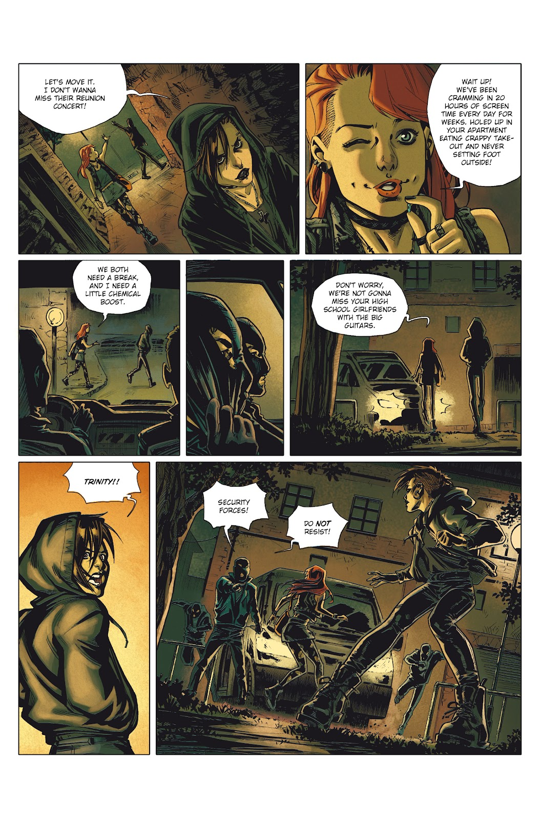 Read online Millennium: The Girl Who Danced With Death comic -  Issue #1 - 5