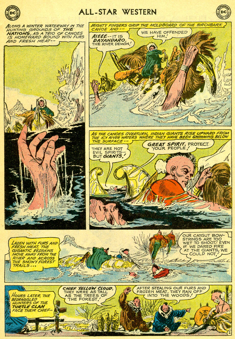 Read online All-Star Western (1951) comic -  Issue #118 - 22