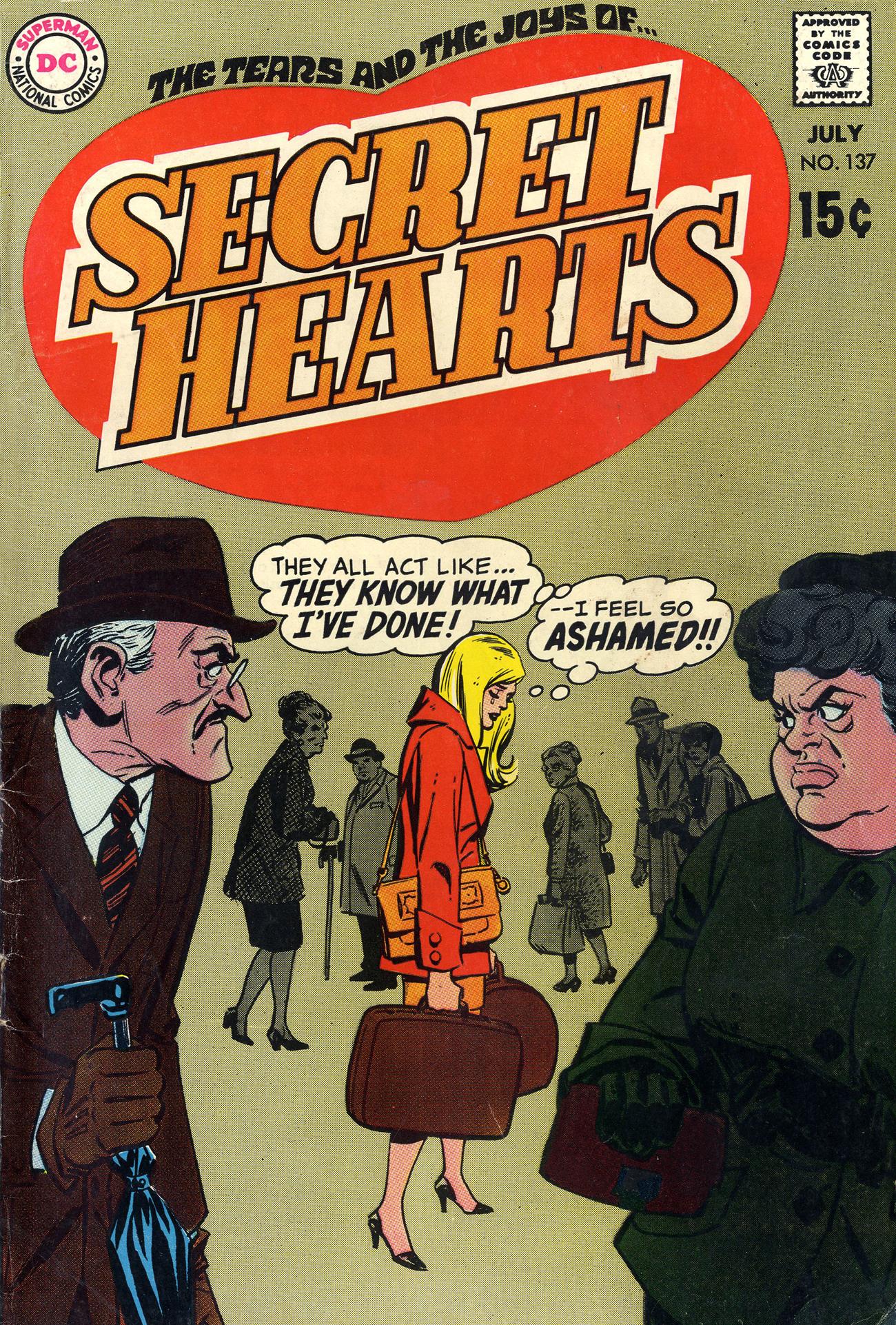 Read online Secret Hearts comic -  Issue #137 - 1