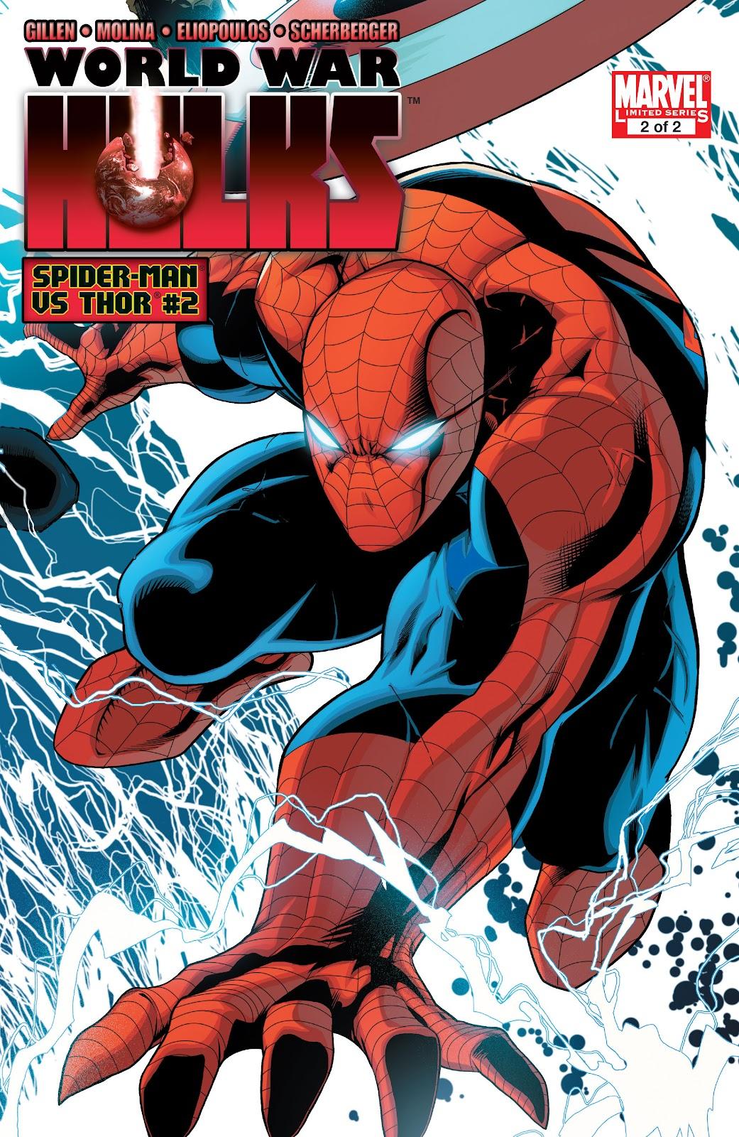 World War Hulks: Spider-Man vs. Thor Issue #2 #2 - English 1