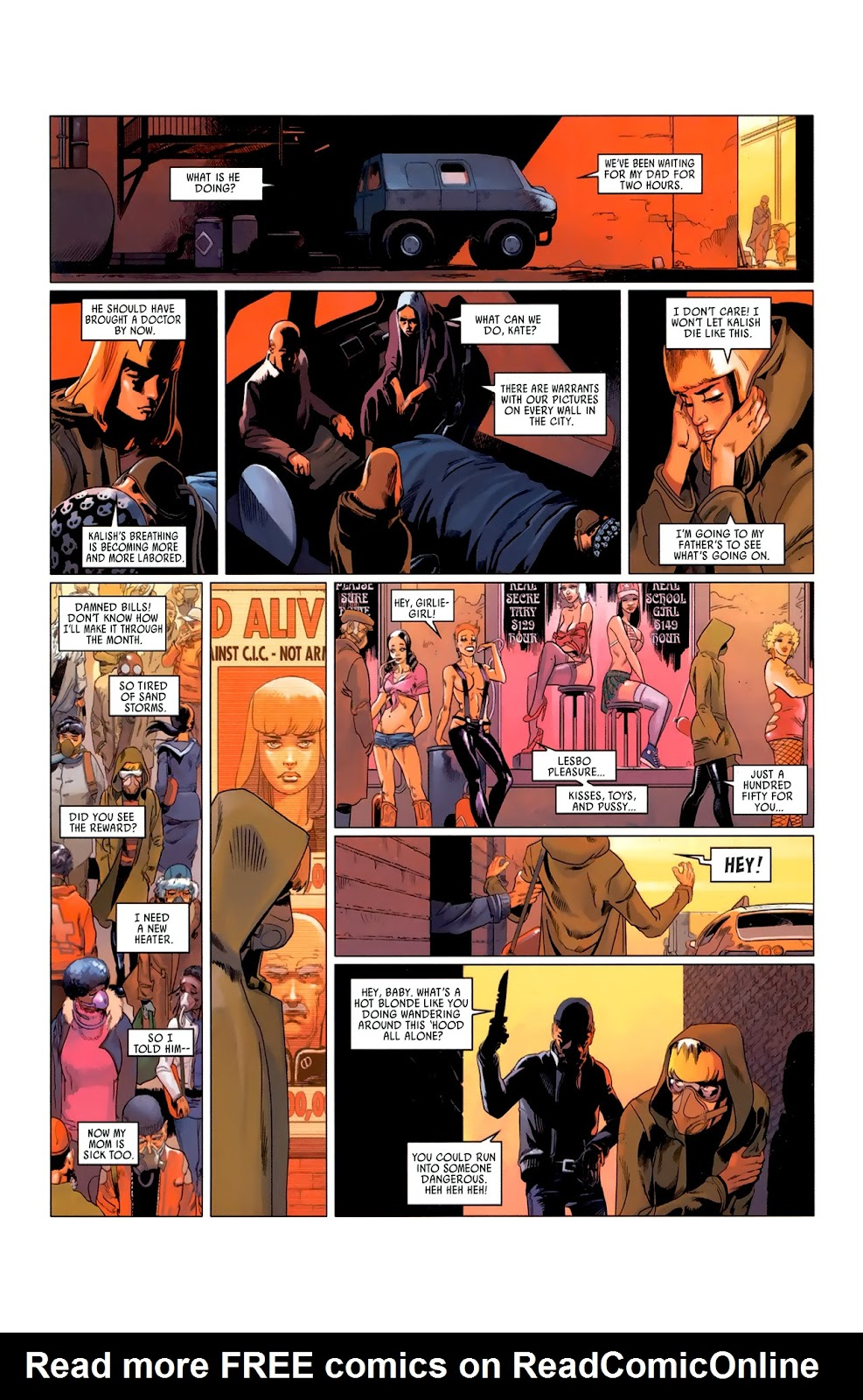 Read online Universal War One: Revelations comic -  Issue #3 - 17