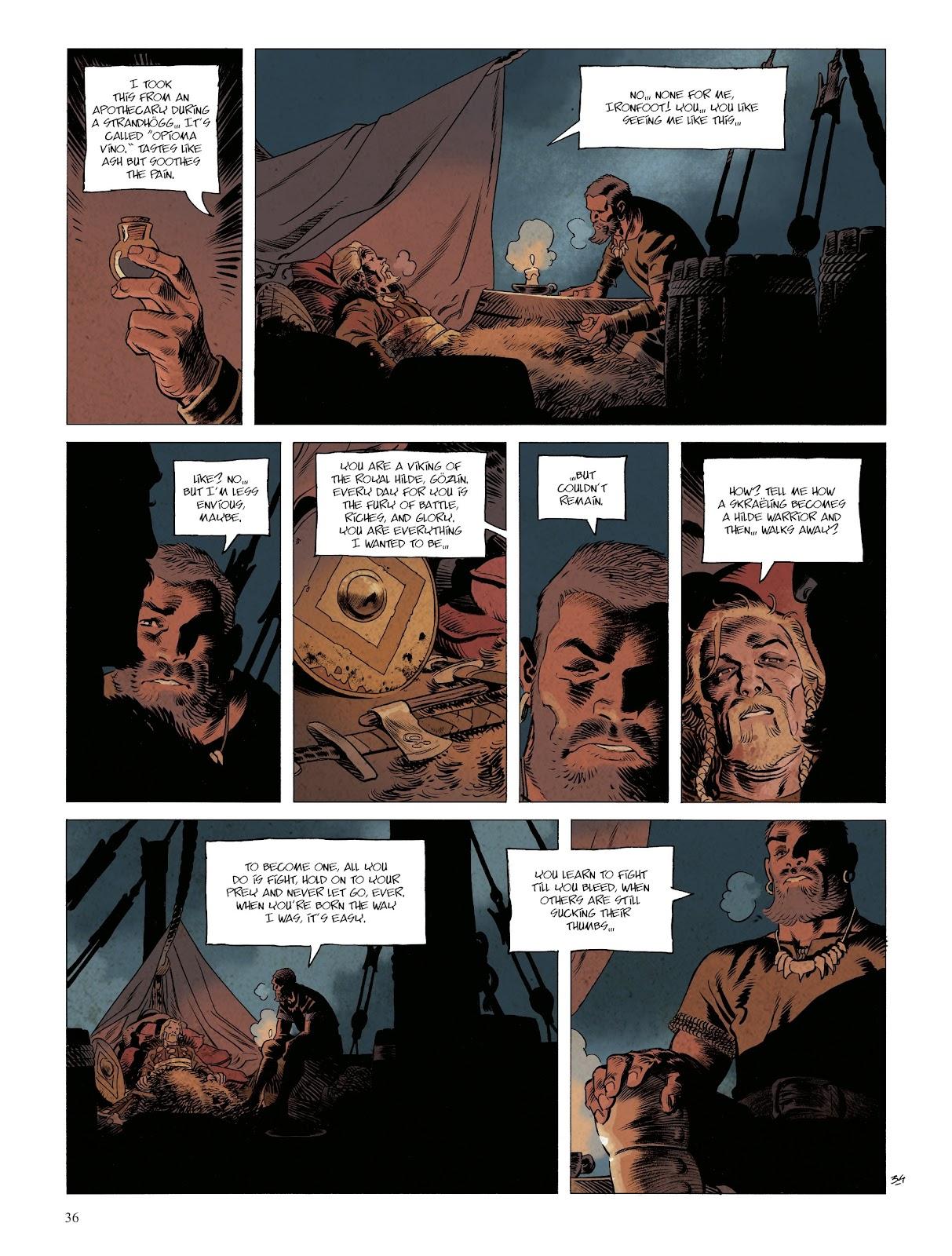 Read online Asgard comic -  Issue #1 - 38
