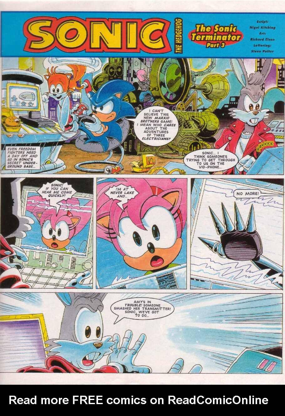 Read online Sonic the Comic comic -  Issue #26 - 3