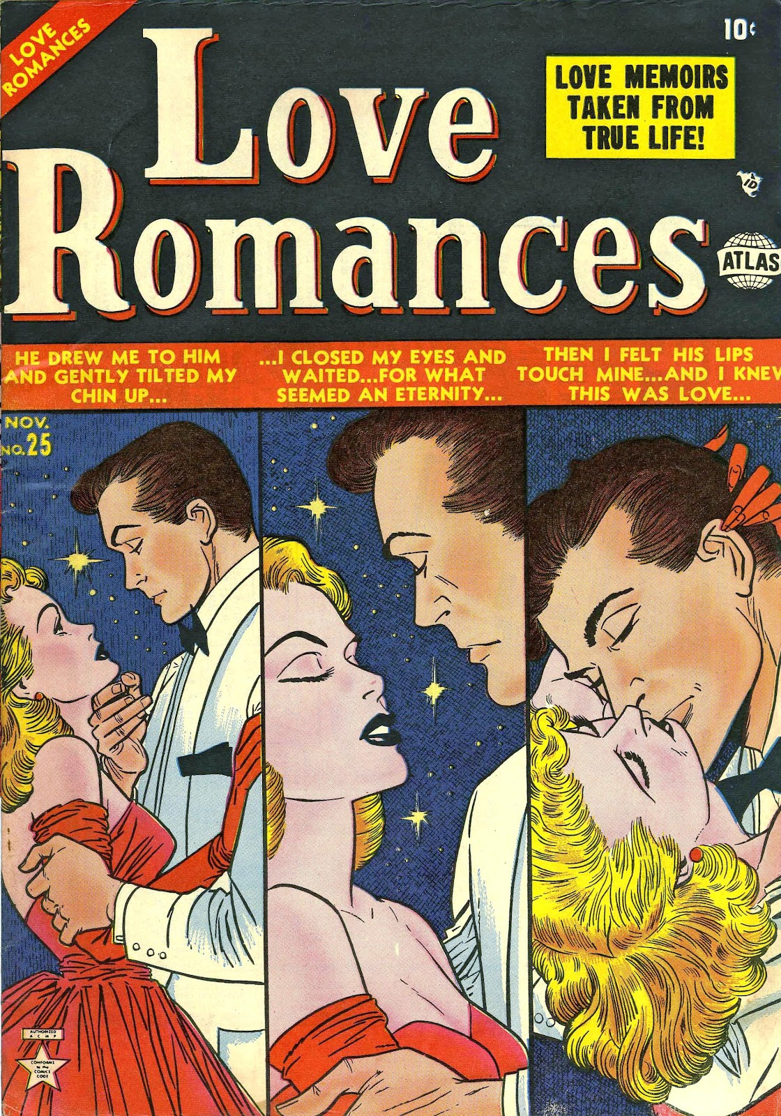 Love Romances (1949) issue 25 - Page 1