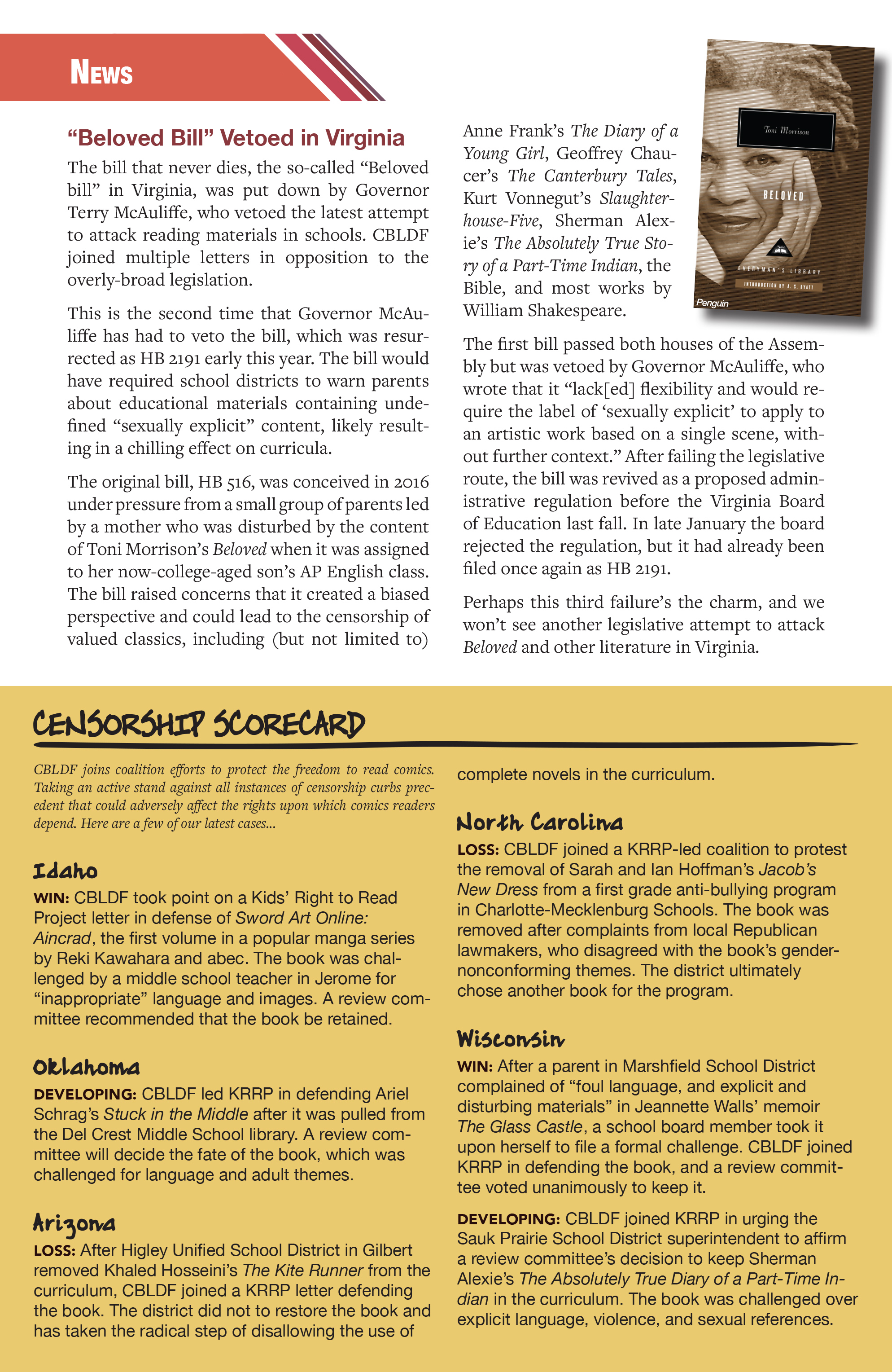 Read online CBLDF Defender Vol. 2 comic -  Issue #2 - 4
