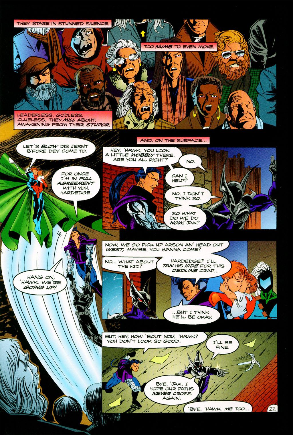 Read online ShadowHawk comic -  Issue #11 - 19