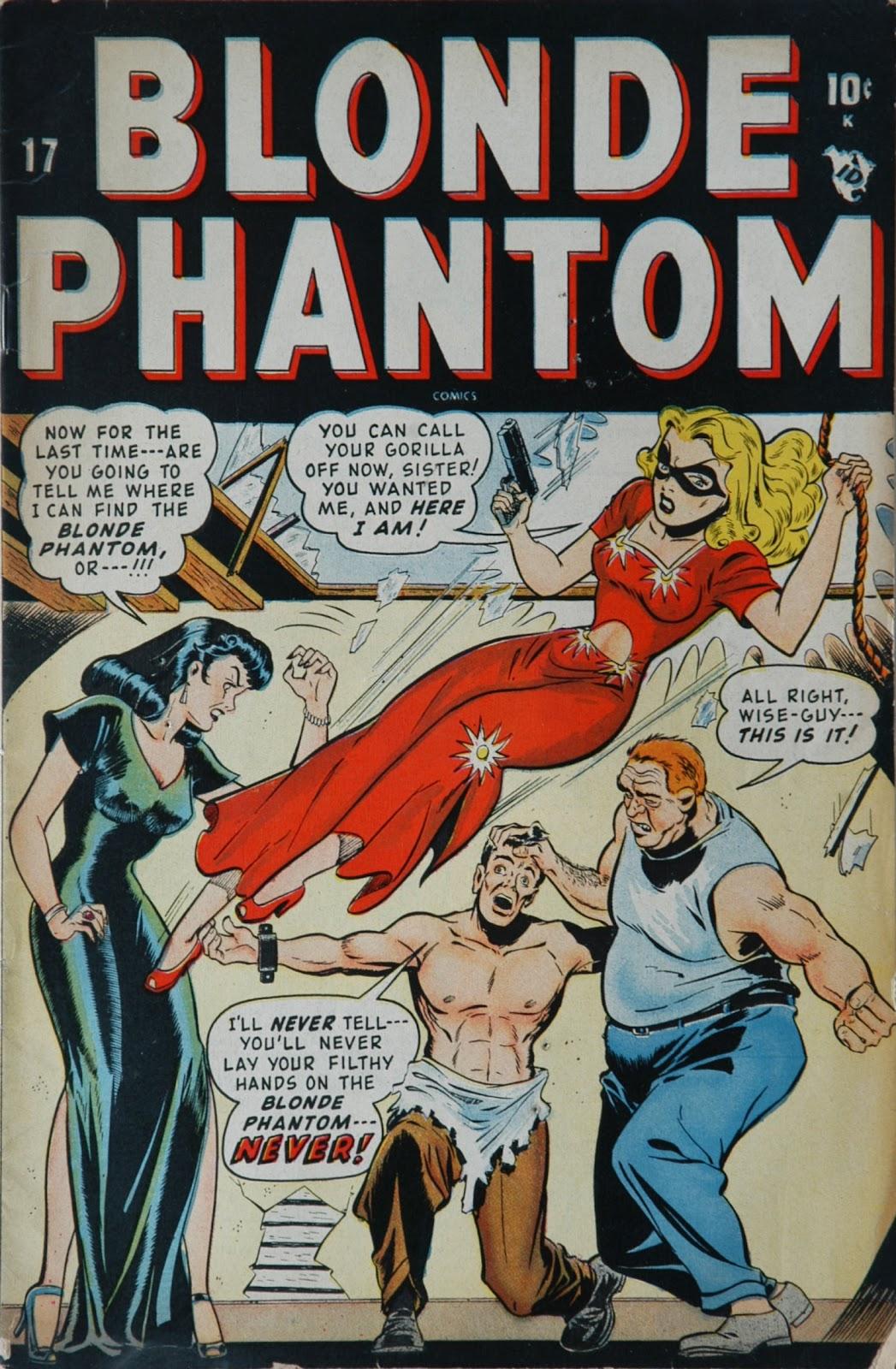 Blonde Phantom Comics issue 17 - Page 1