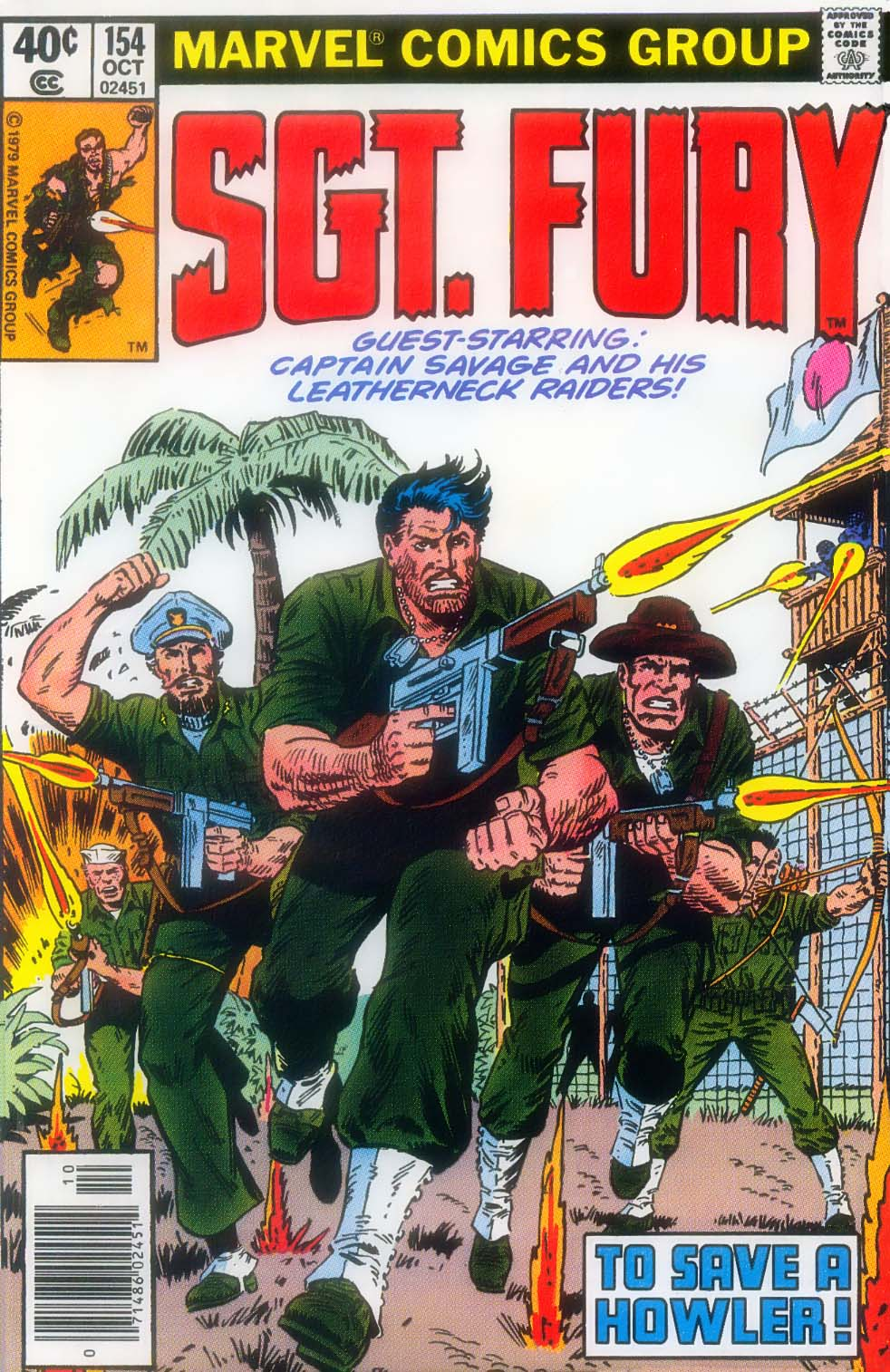 Read online Sgt. Fury comic -  Issue #154 - 1