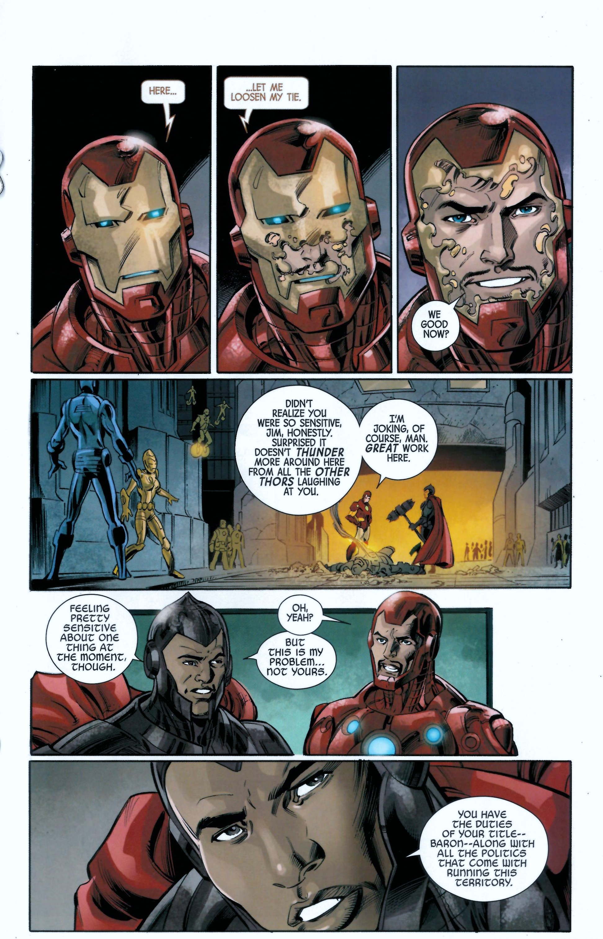 Read online Armor Wars comic -  Issue #0.5 - 8