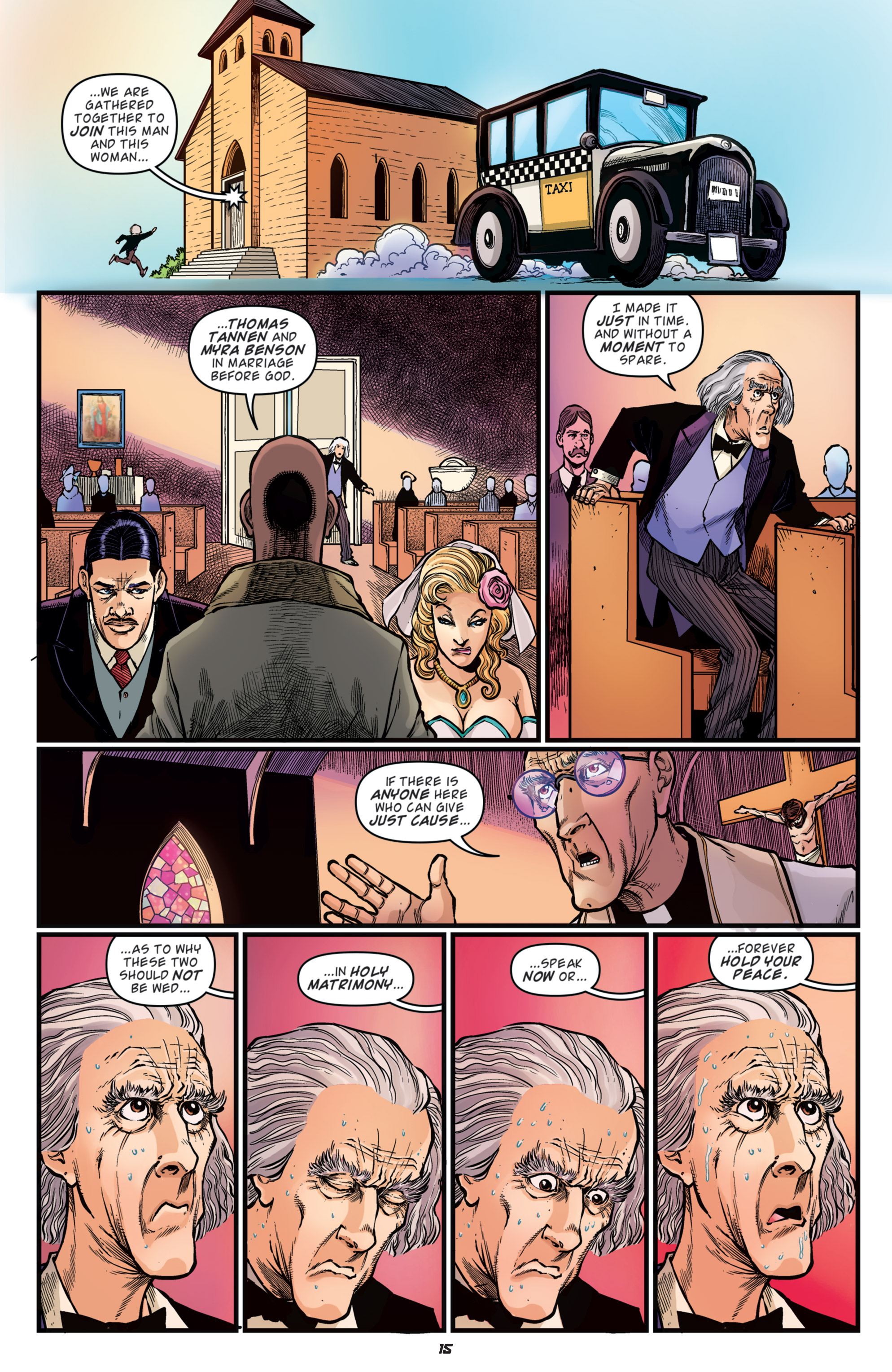 Read online Back to the Future: Biff to the Future comic -  Issue #5 - 17