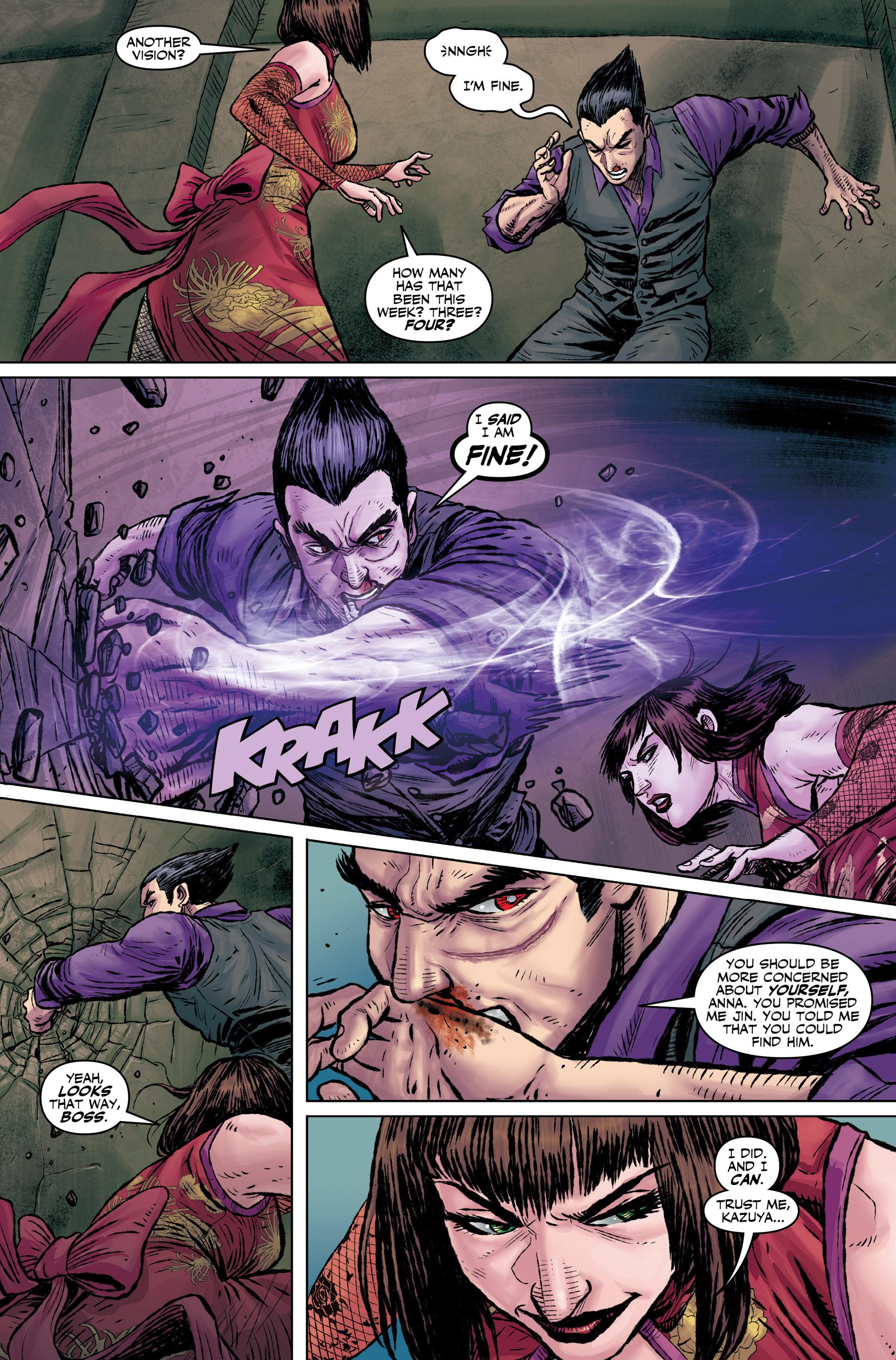 Read online Tekken comic -  Issue #1 - 22