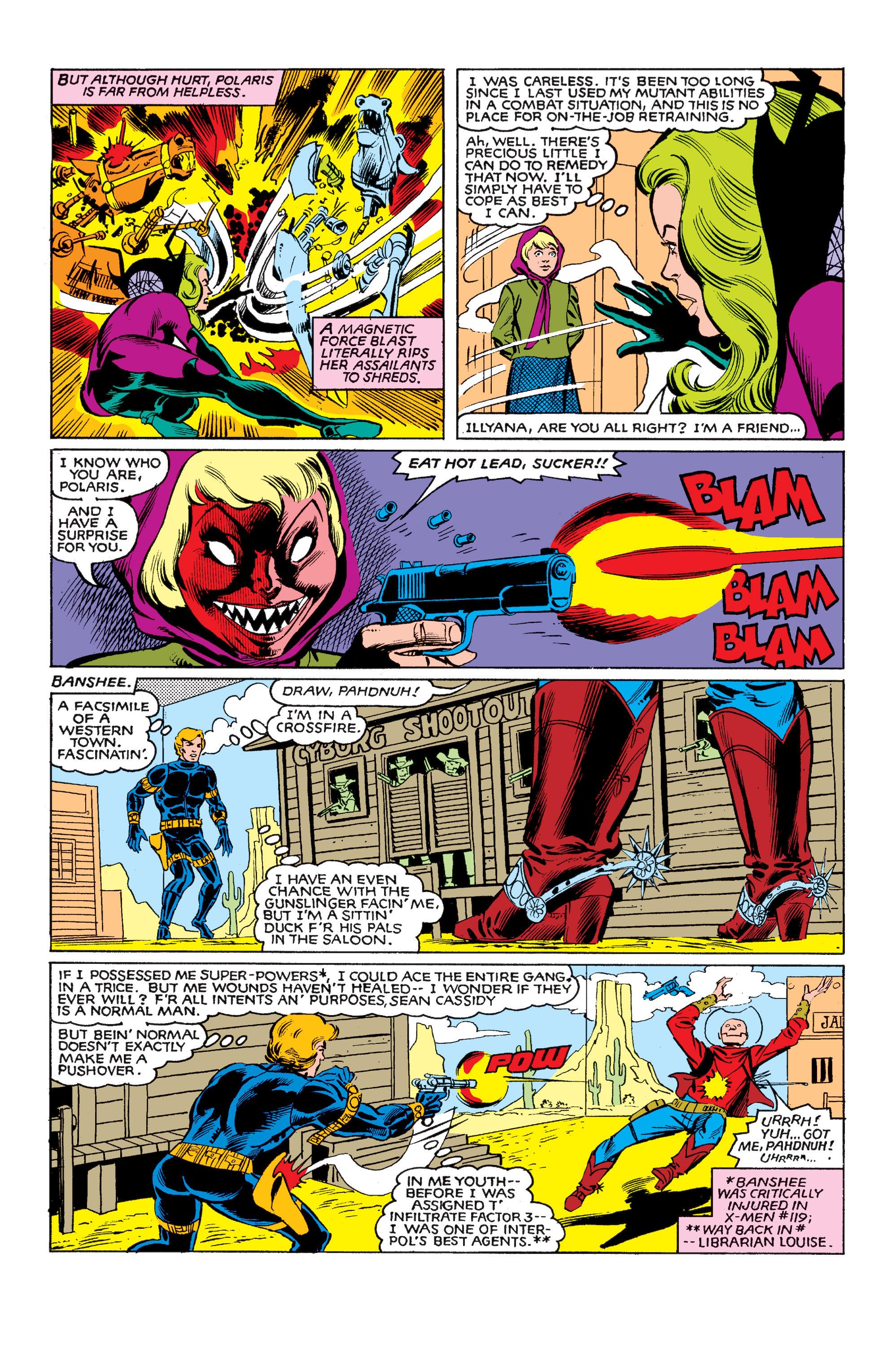 Read online Uncanny X-Men (1963) comic -  Issue #146 - 15