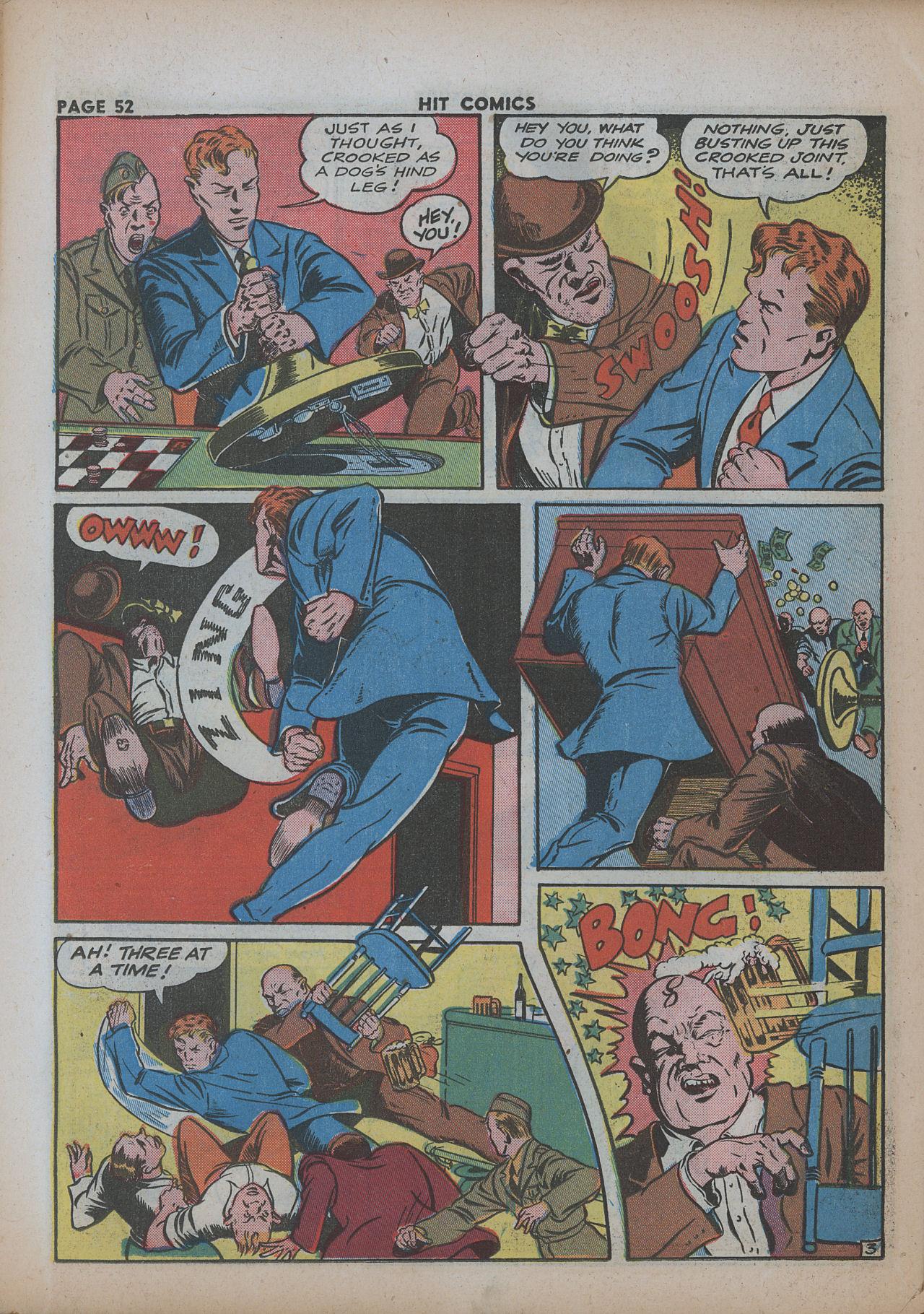 Read online Hit Comics comic -  Issue #26 - 53