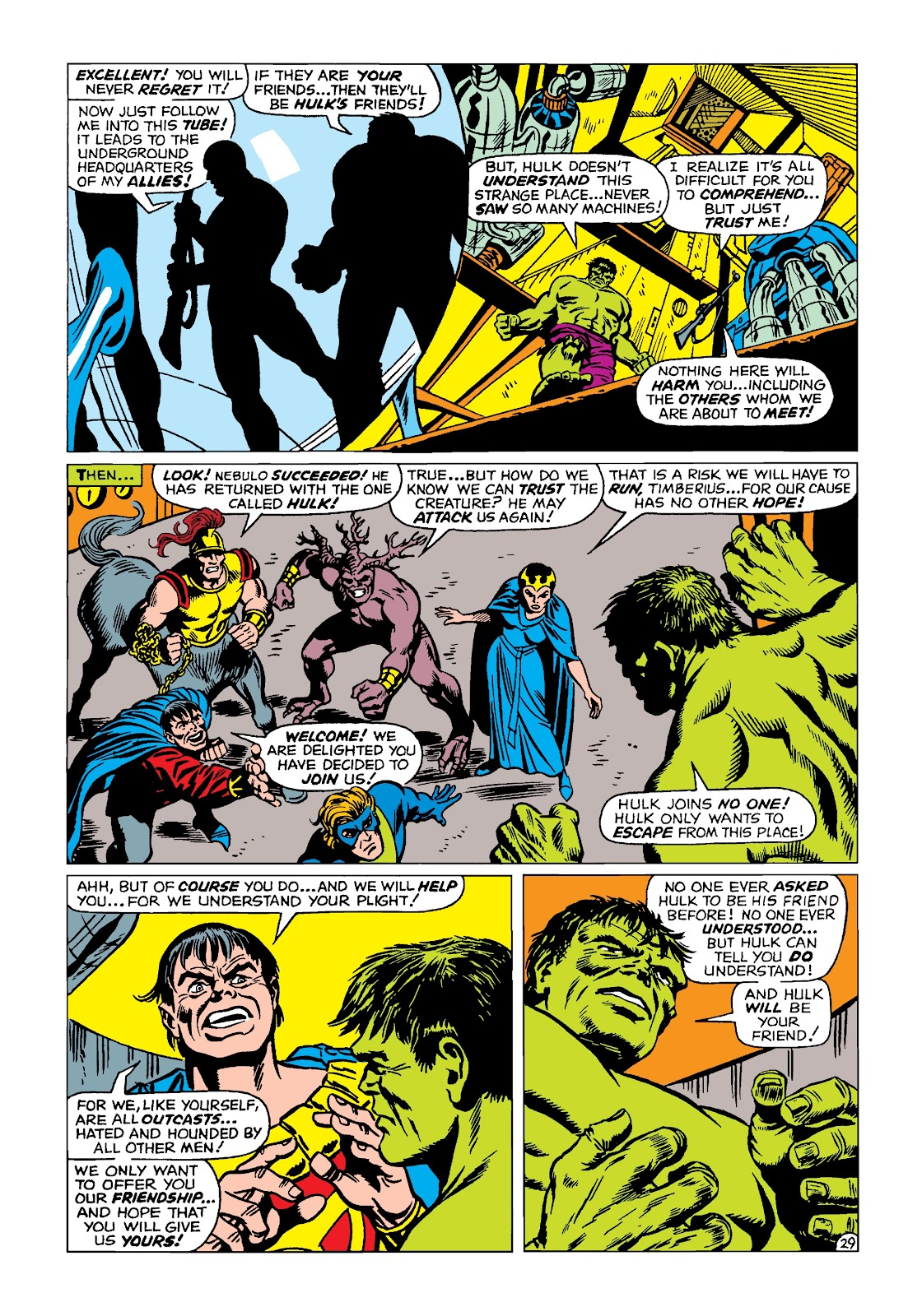 Read online Marvel Masterworks: The Incredible Hulk comic -  Issue # TPB 4 (Part 2) - 62