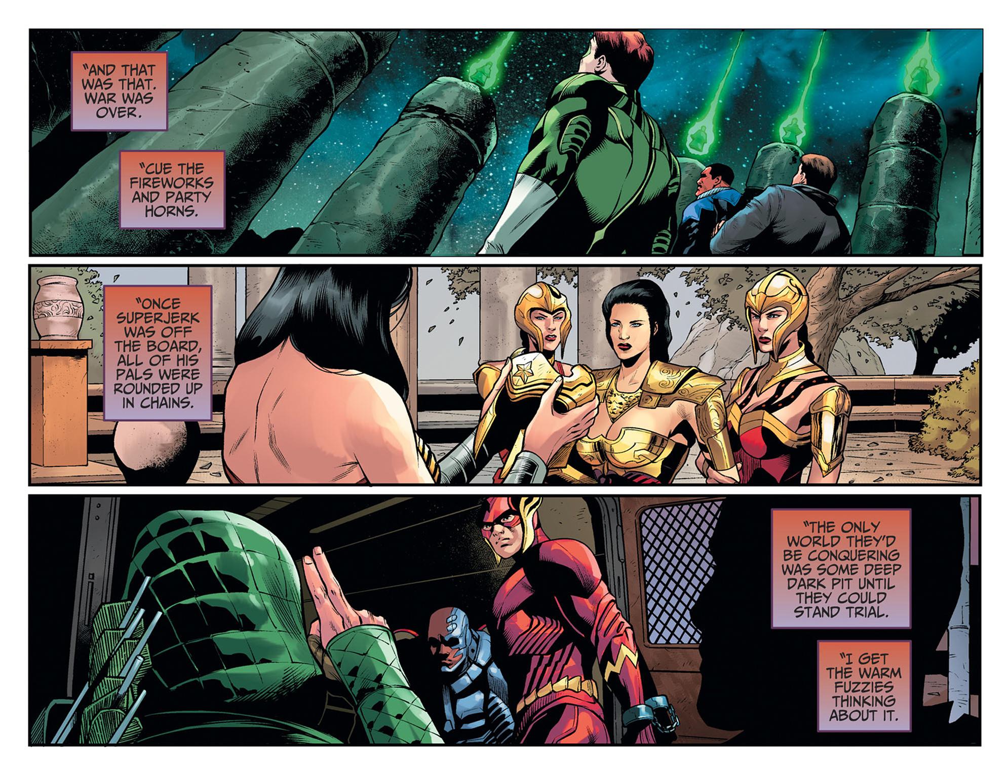Read online Injustice: Ground Zero comic -  Issue #24 - 14