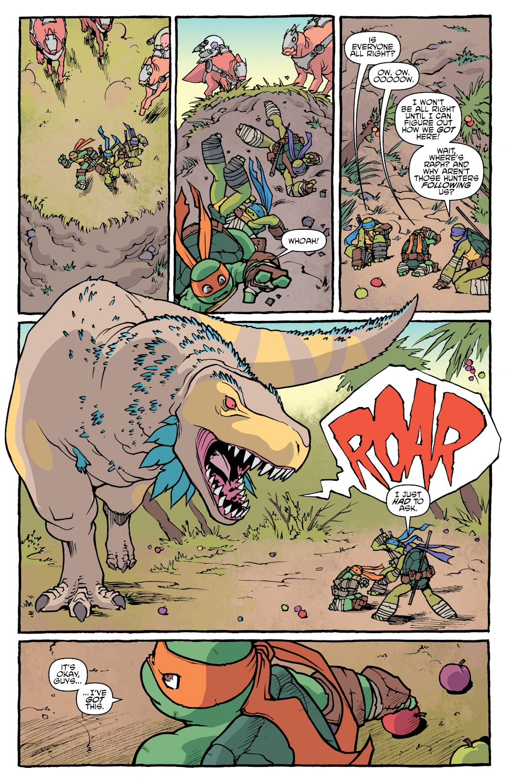 Read online Teenage Mutant Ninja Turtles: The IDW Collection comic -  Issue # TPB 5 (Part 1) - 12