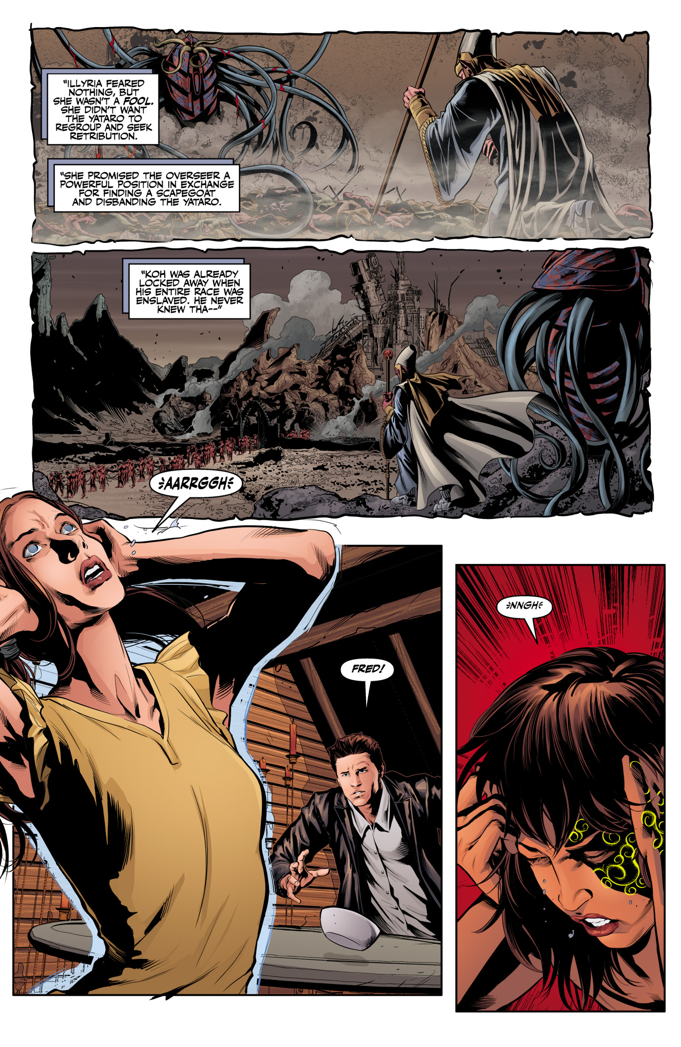 Read online Angel & Faith Season 10 comic -  Issue #12 - 18