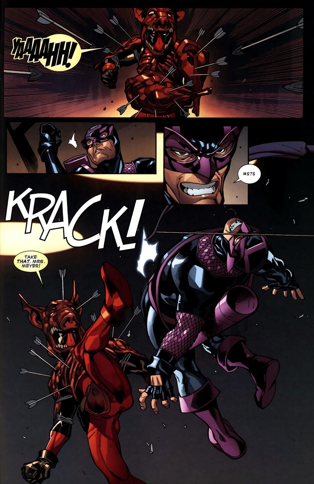 Read online Deadpool (2008) comic -  Issue #11 - 19