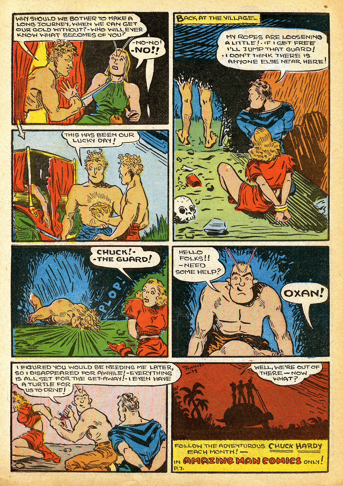 Read online Amazing Man Comics comic -  Issue #10 - 51