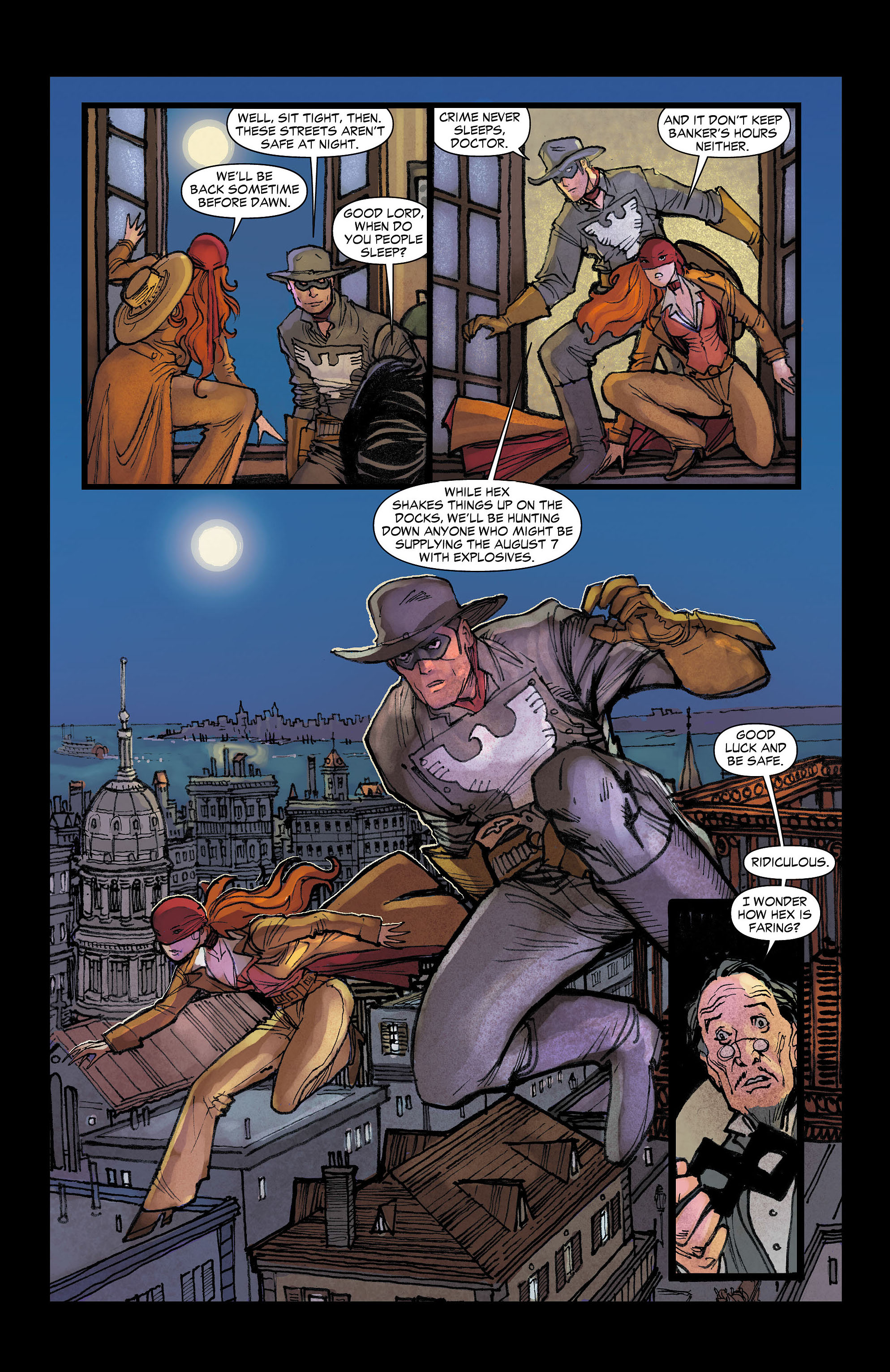Read online All-Star Western (2011) comic -  Issue #7 - 17