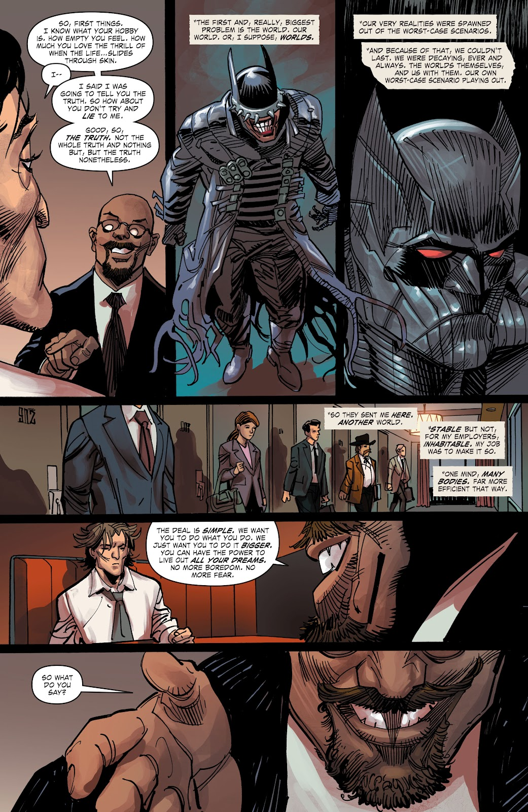 Read online The Curse of Brimstone: Ashes comic -  Issue # TPB (Part 2) - 5