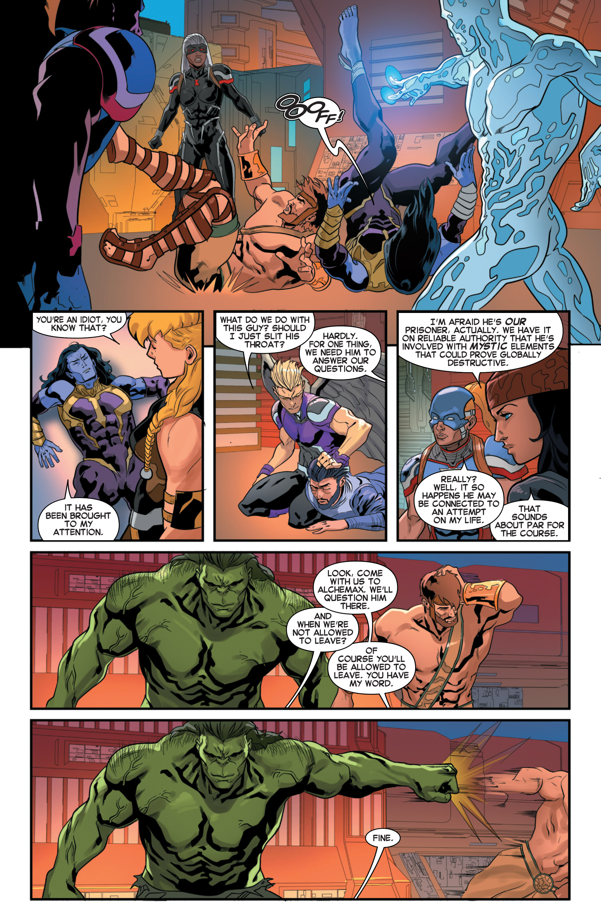 Read online Secret Wars 2099 comic -  Issue #3 - 10