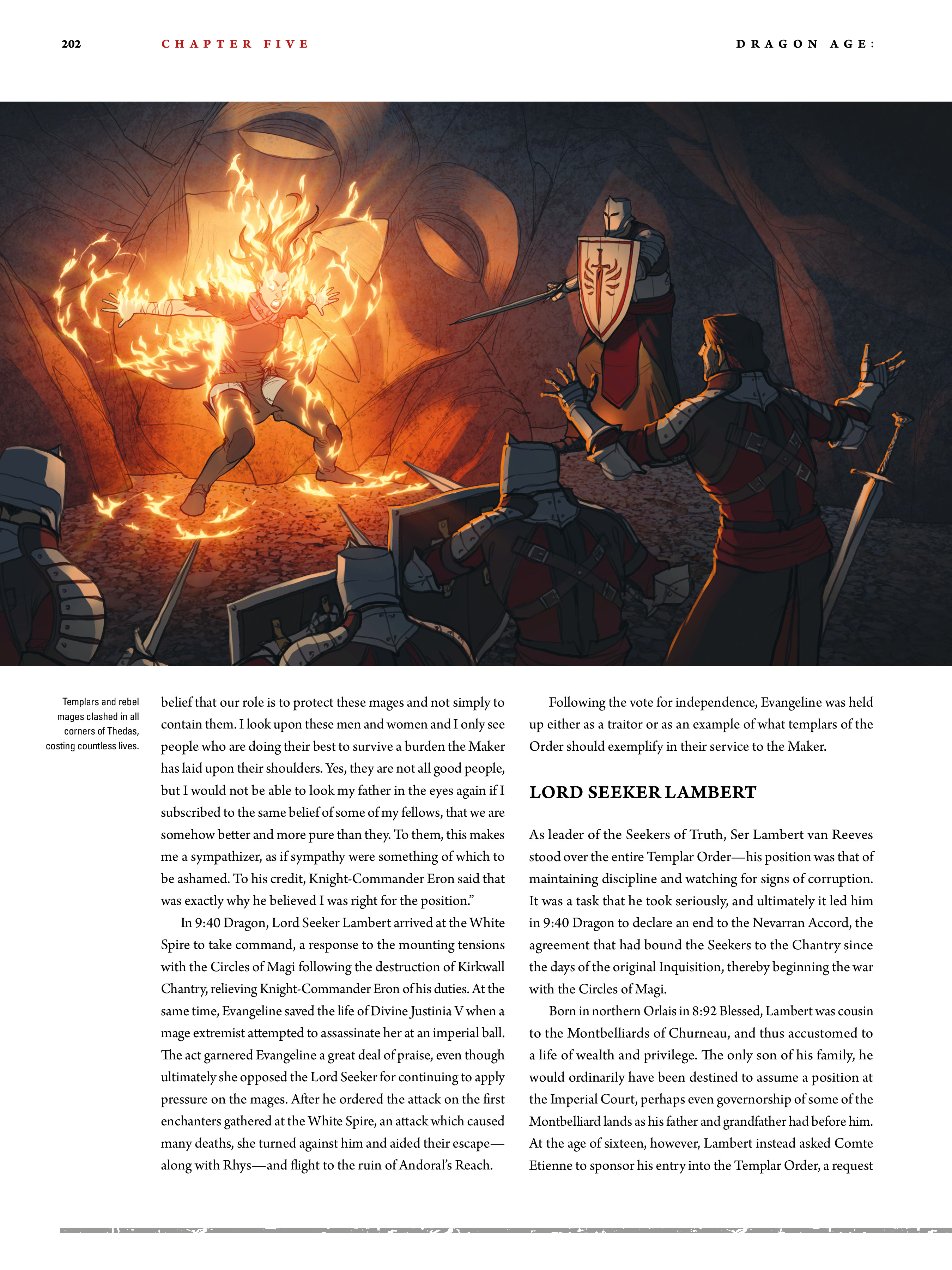 Read online Dragon Age: The World of Thedas comic -  Issue # TPB 2 - 197